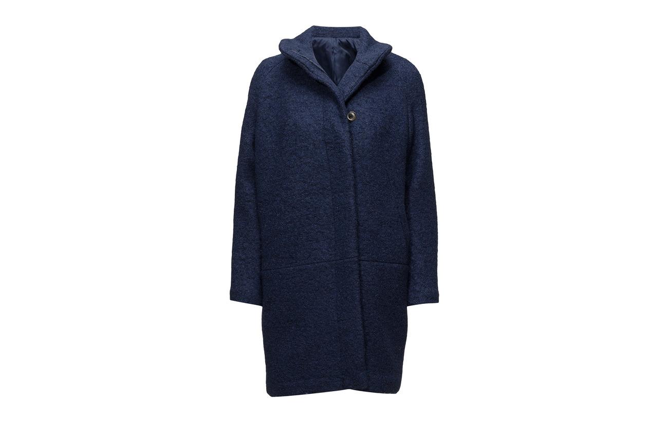 Polyester Mel 55 Depths Laine Jacket Blue amp; 45 Samsøe Hoff 10147 awxXq08ngY