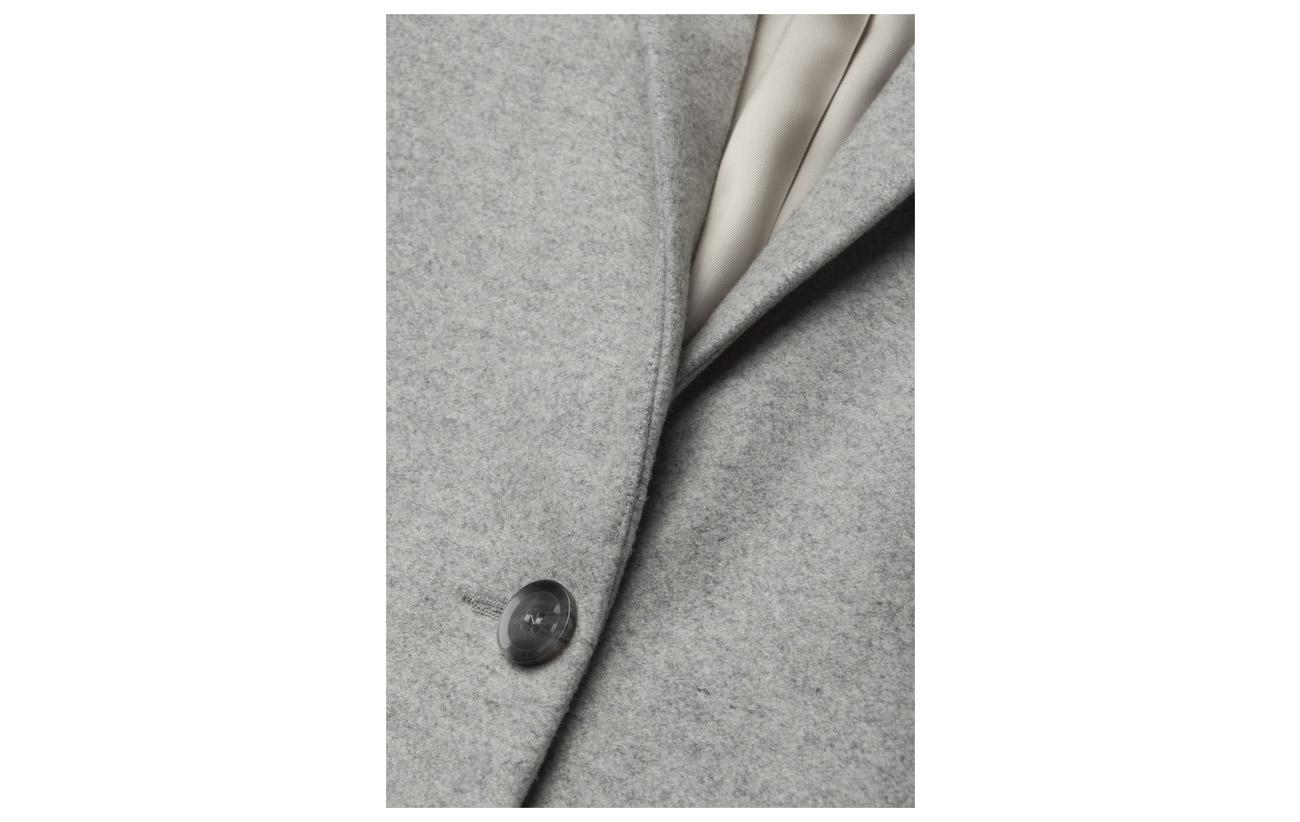 Polyamide Jacket amp; Mel Other 9930 Fiber 60 Laine Mel 5 15 Polyester Grey 20 Samsøe PwCqdq
