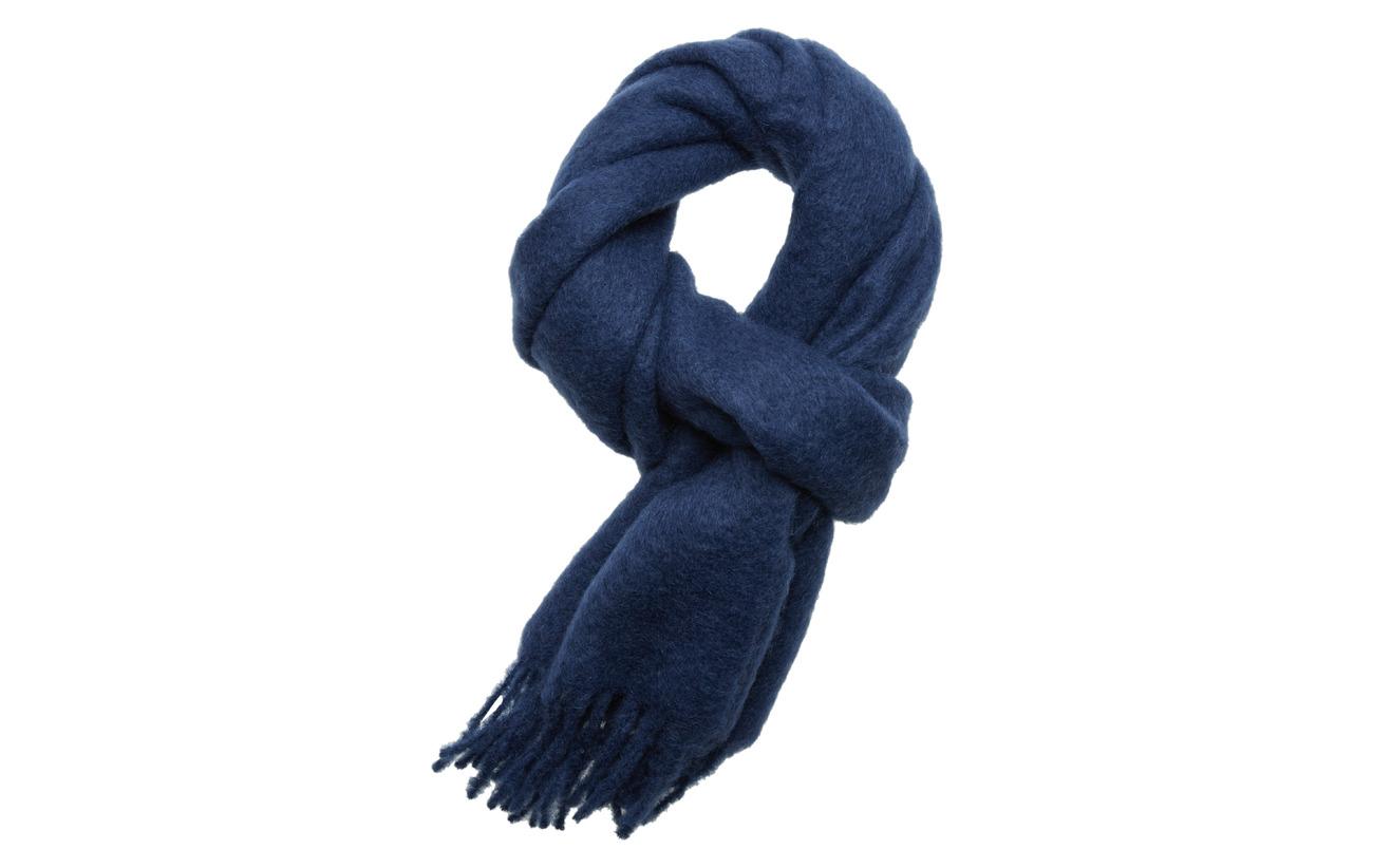 Samsøe & Samsøe Minetta scarf 10552 - BLUE DEPTHS