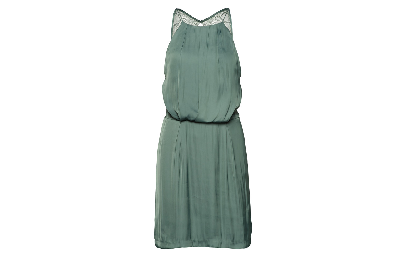 Samsøe Green Willow S amp; 10284 Duck 100 Dress Polyester rxYqrnwB