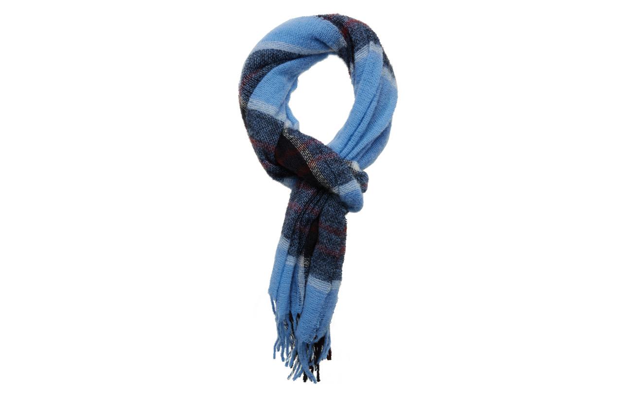 Samsøe Samsøe Minetta light scarf 10812 - BLUE BONNET CH.