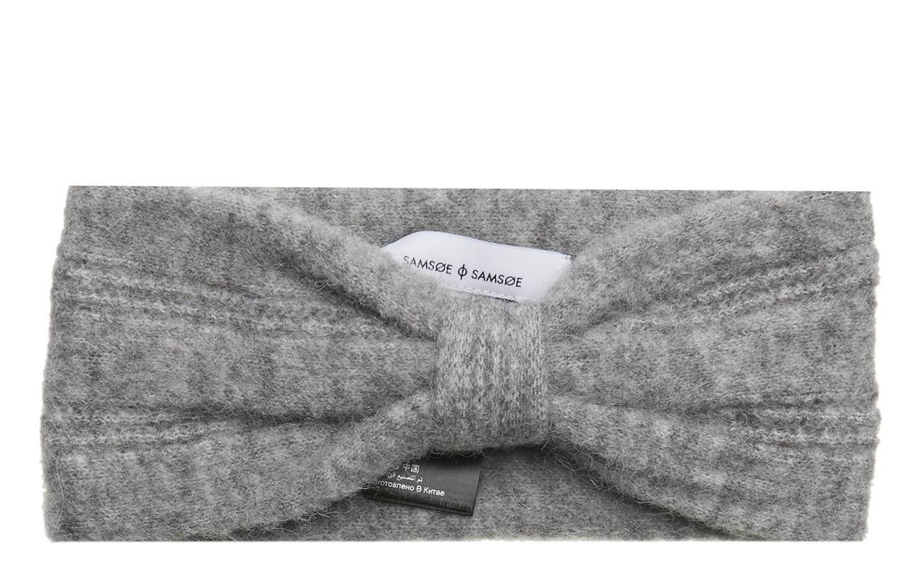 Samsøe & Samsøe Nor headband 7355 - GREY MEL.