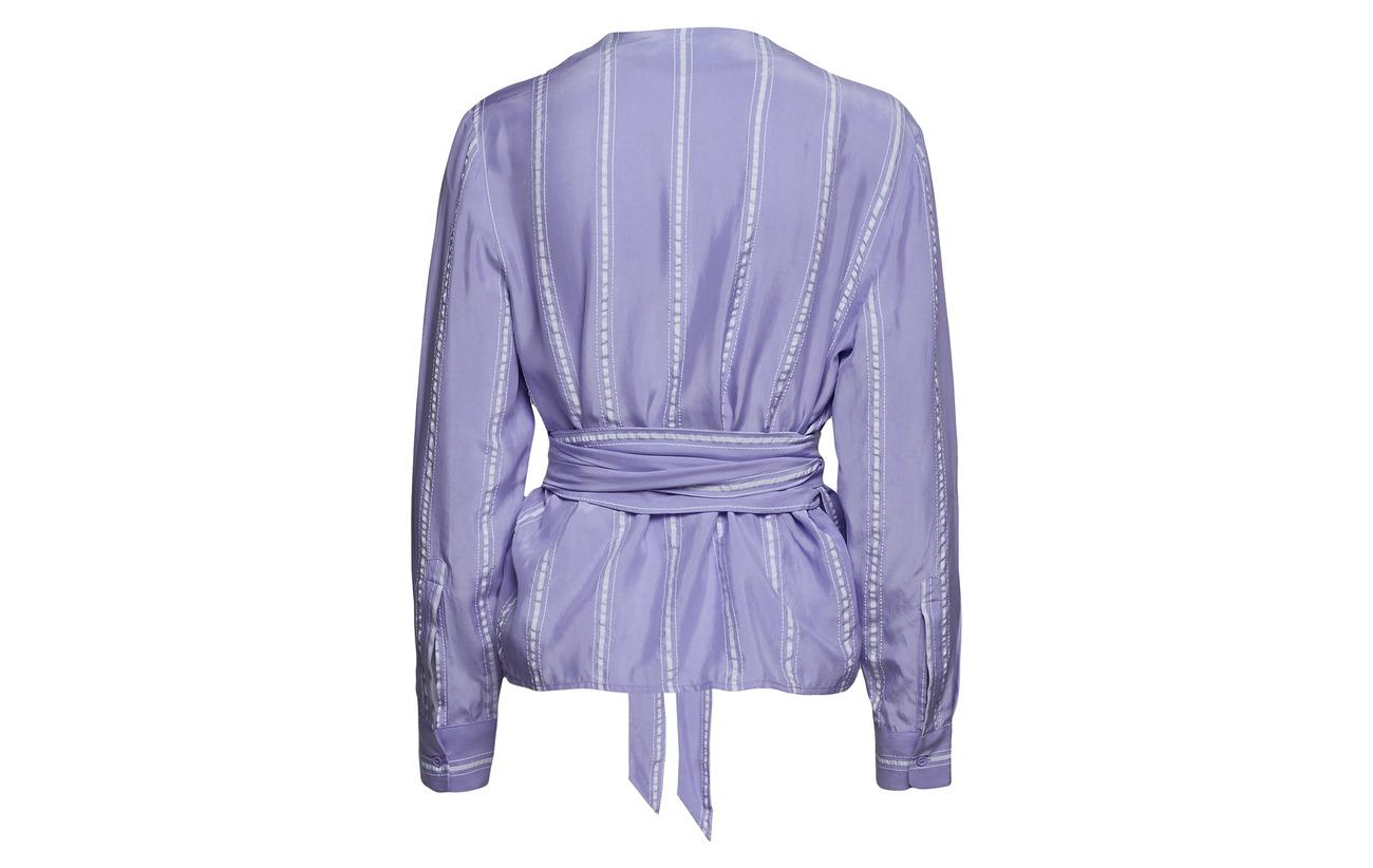10452 55 Shirt 5 Cupro St Viscose Polyester Deegas Violet amp; Samsøe 40 EvYqwFtE
