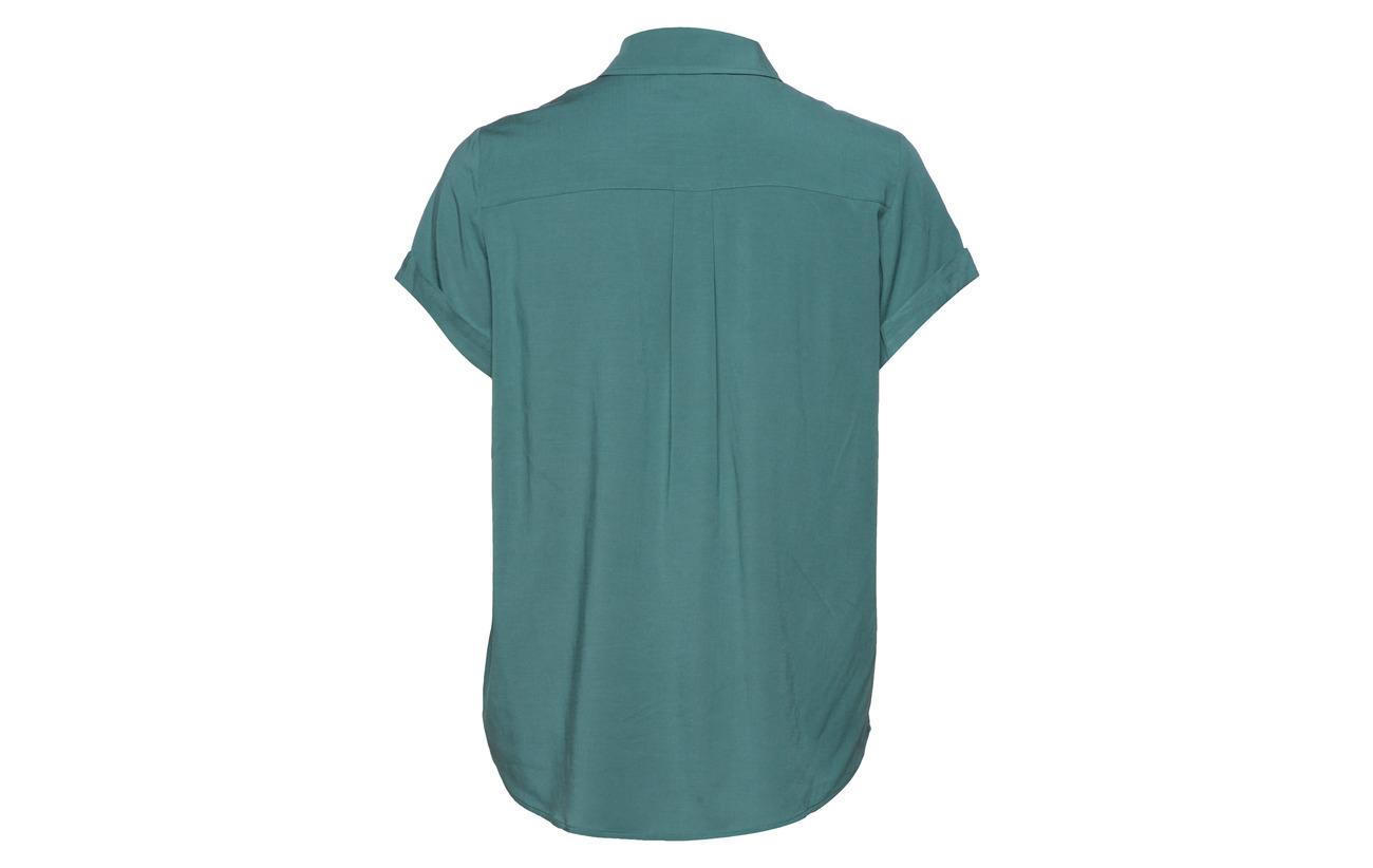 Shirt Samsøe amp; 4 Black Majan 96 Elastane 9942 Viscose Ss SqFdtrwq
