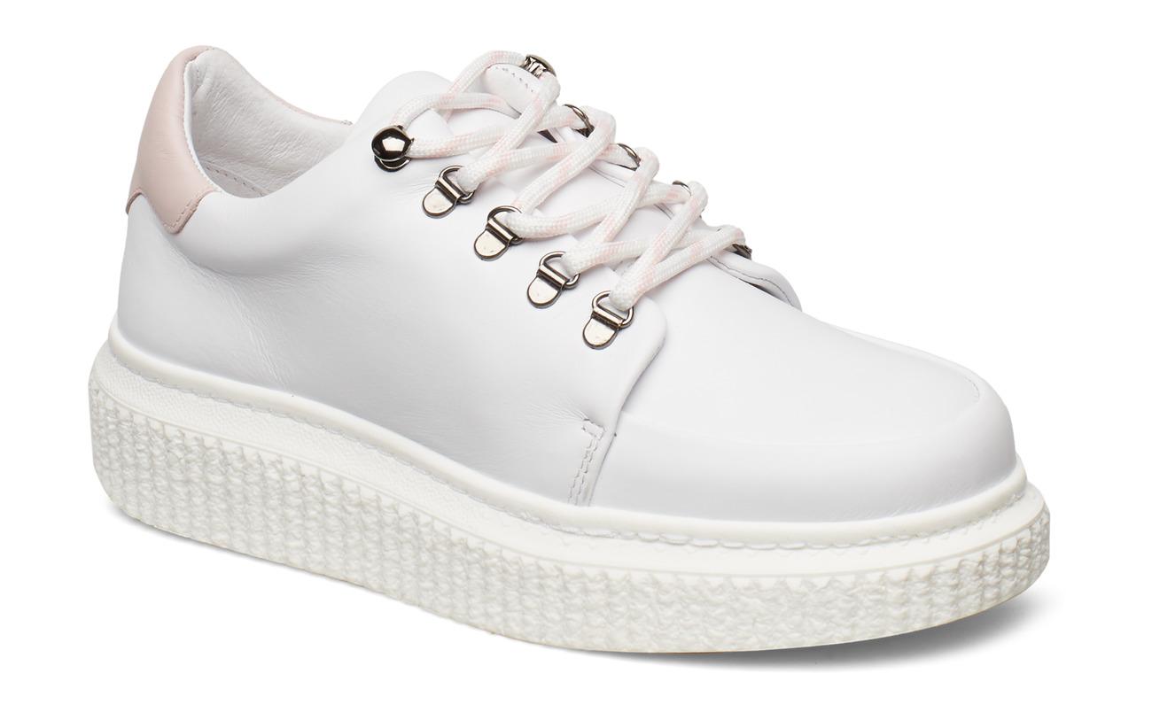Samsøe & Samsøe Vala sneakers 7556 - WHITE/PALE MAUVE