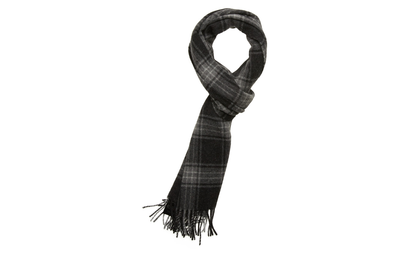 Samsøe & Samsøe Mikey check scarf 11172 - QUIET SHADE CH.