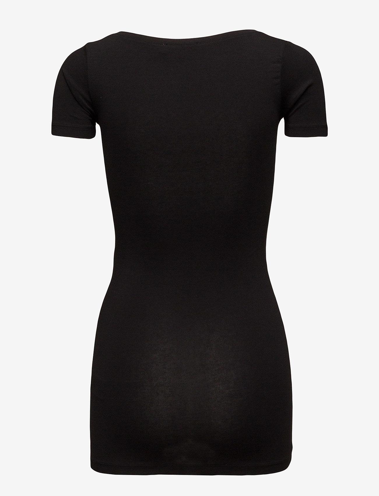 Samsøe Samsøe - Sadie solid 265 - basic t-shirts - black - 1