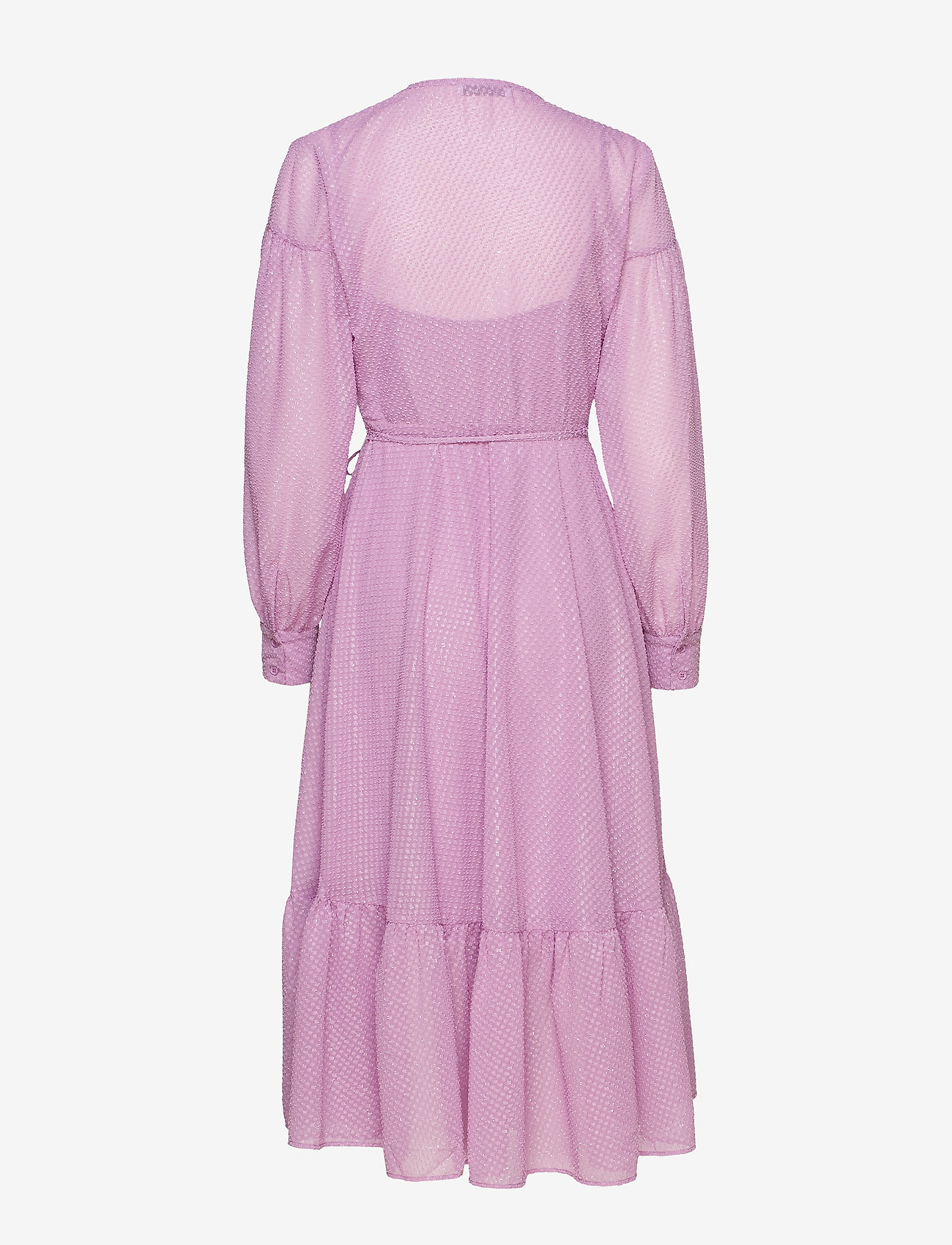 Samsøe Samsøe - Tulip long dress 11512 - omlottklänning - languid lavender - 1