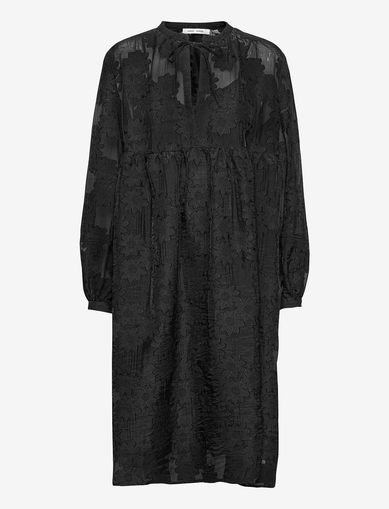 Samsøe Samsøe - Mynthe dress 13049 - blondekjoler - black - 1