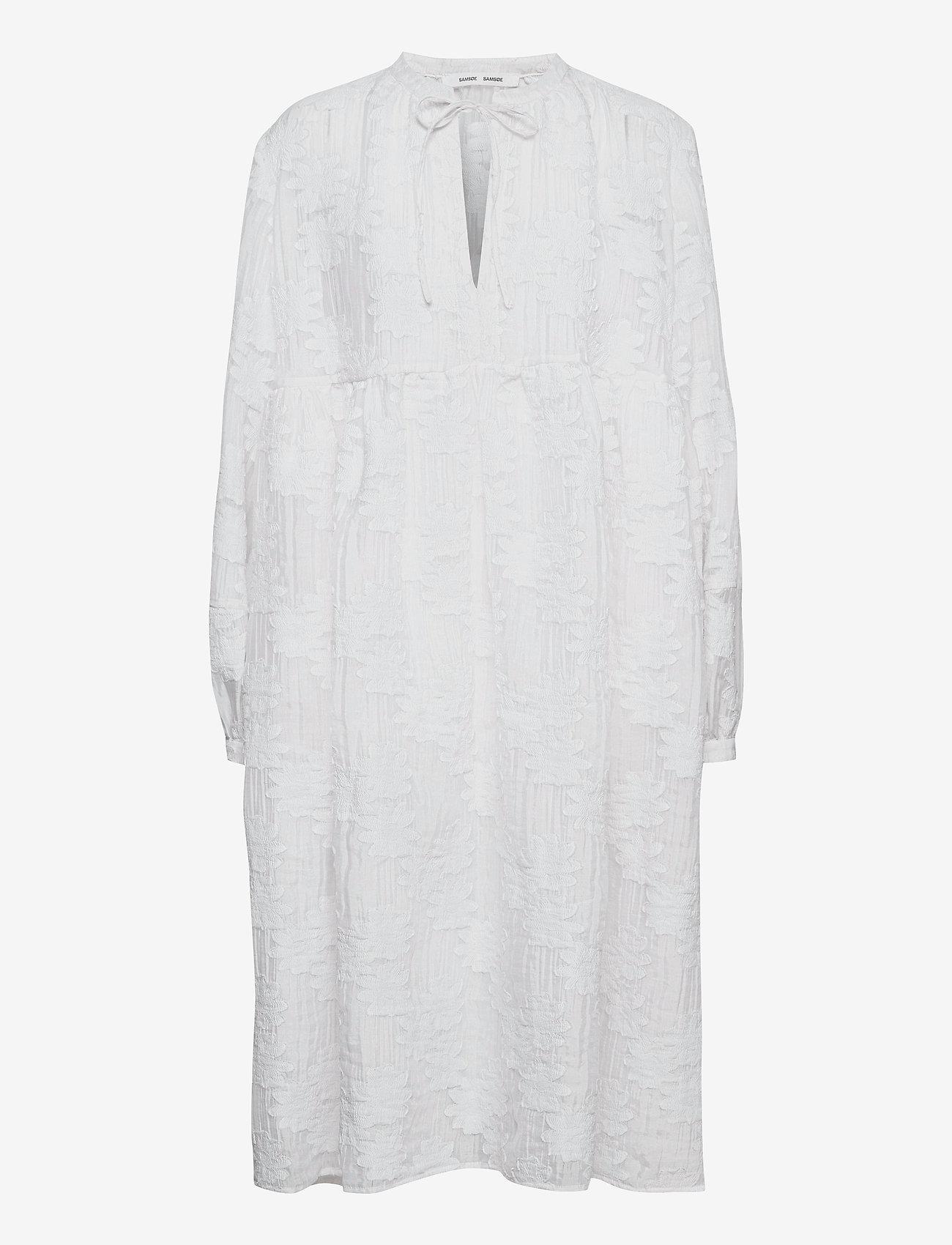 Samsøe Samsøe - Mynthe dress 13049 - blondekjoler - bright white - 0