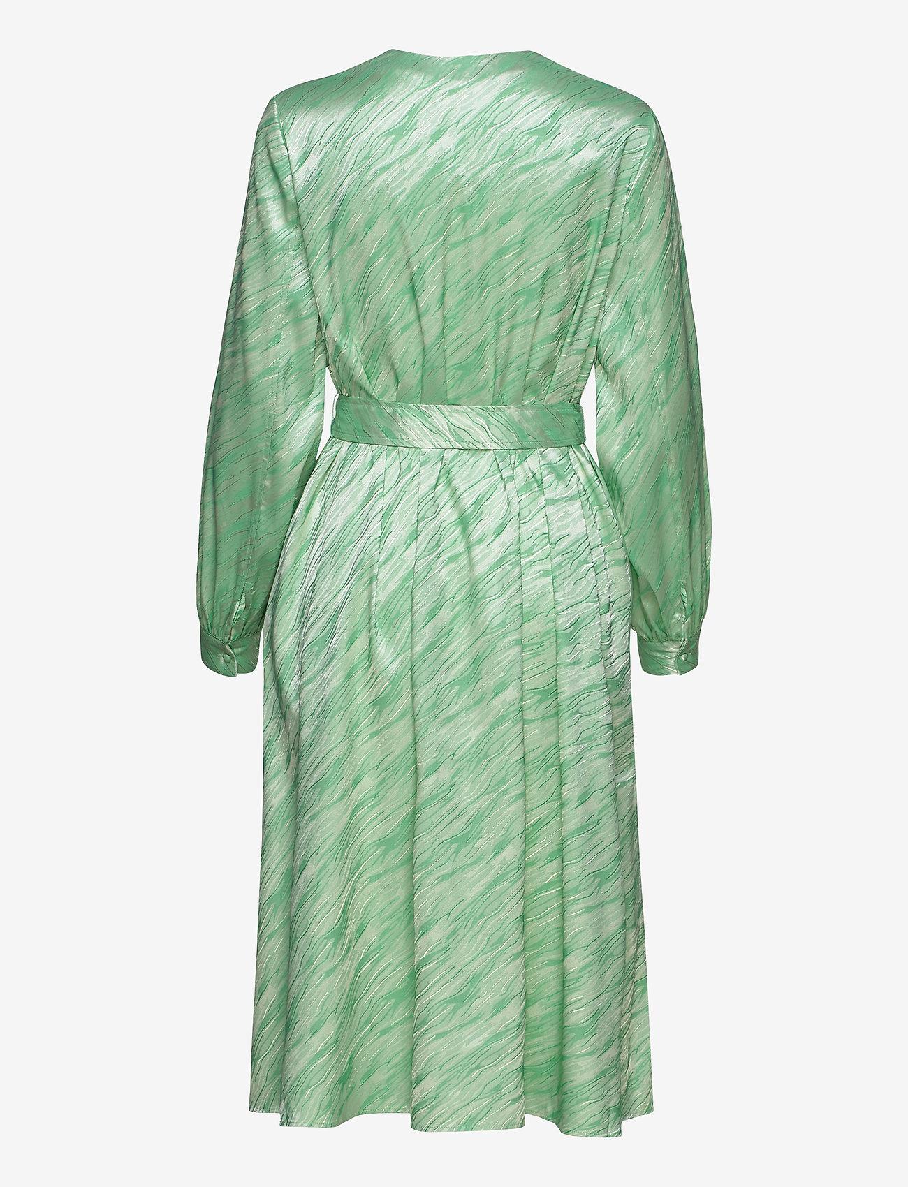 Samsøe Samsøe - Saverine dress 12908 - robes longeur du midi - jade cream