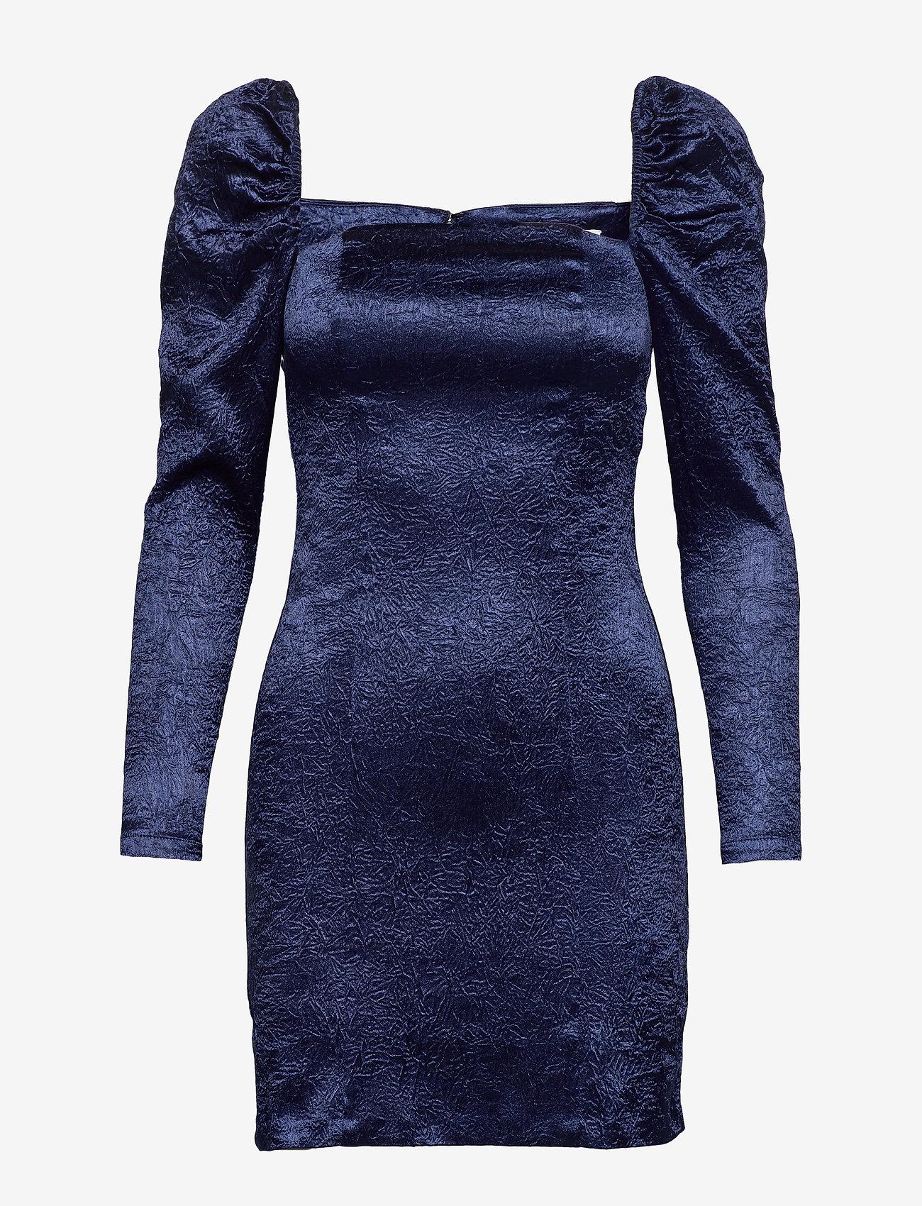 Samsøe Samsøe - Nomie dress 12734 - cocktailkjoler - blue depths - 0