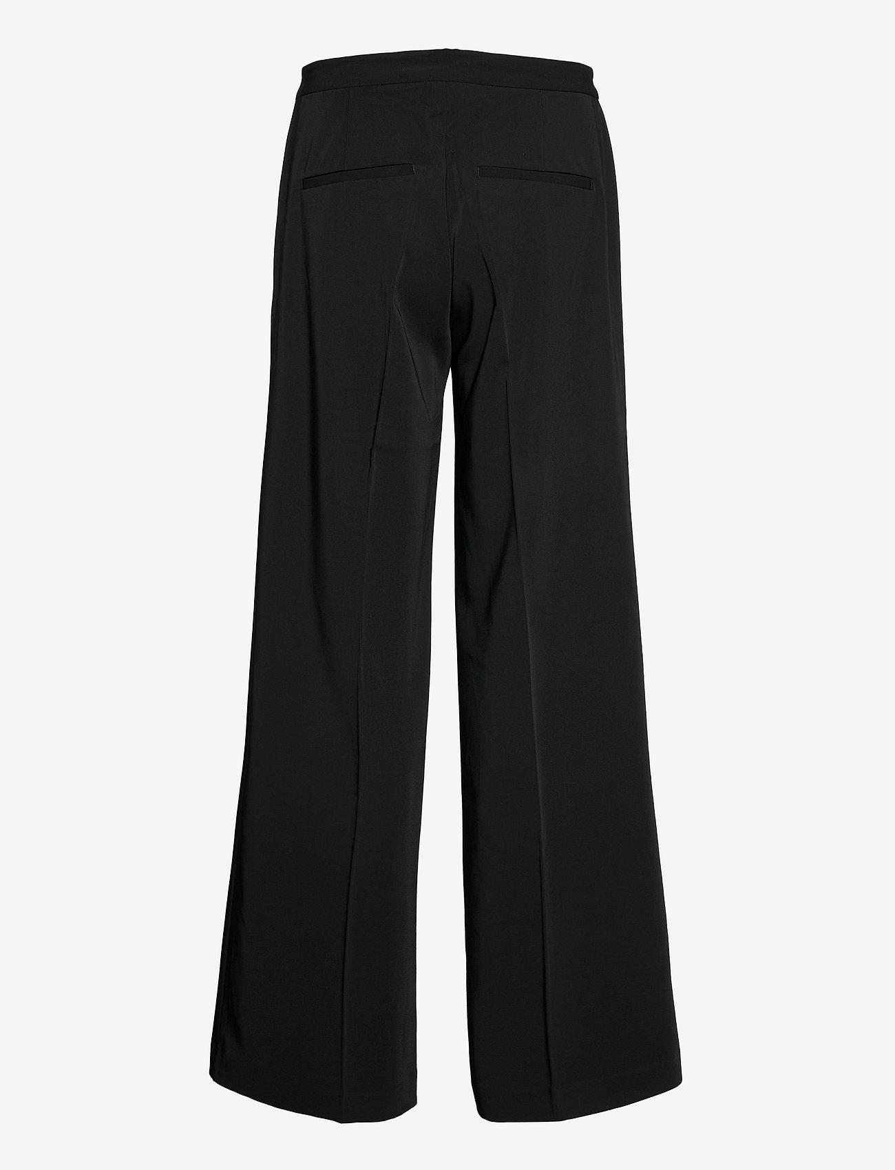 Samsøe Samsøe - Collot trousers 7331 - bukser med brede ben - black - 1