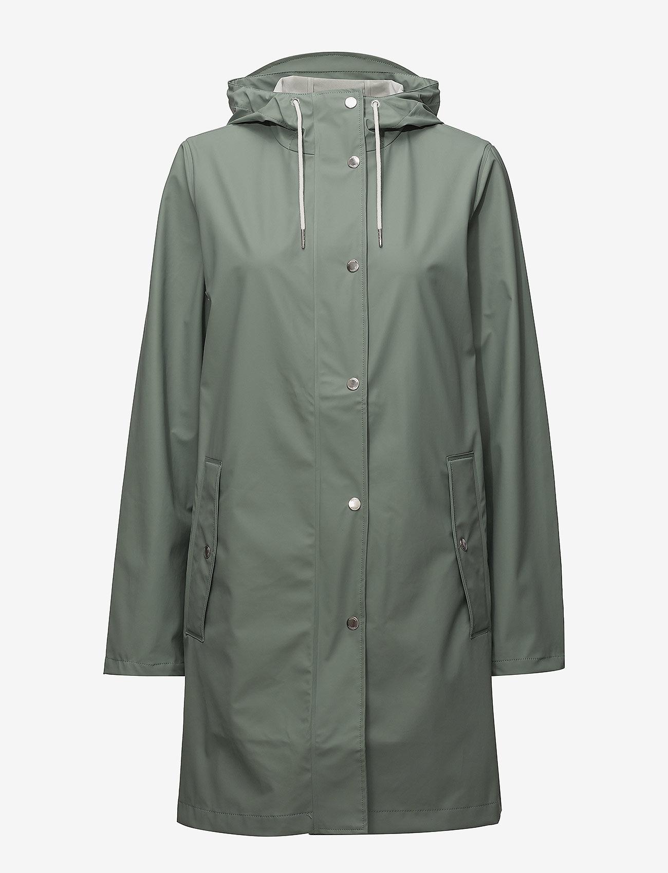 Samsøe Samsøe - Stala jacket 7357 - regnjakker - chinois green - 1