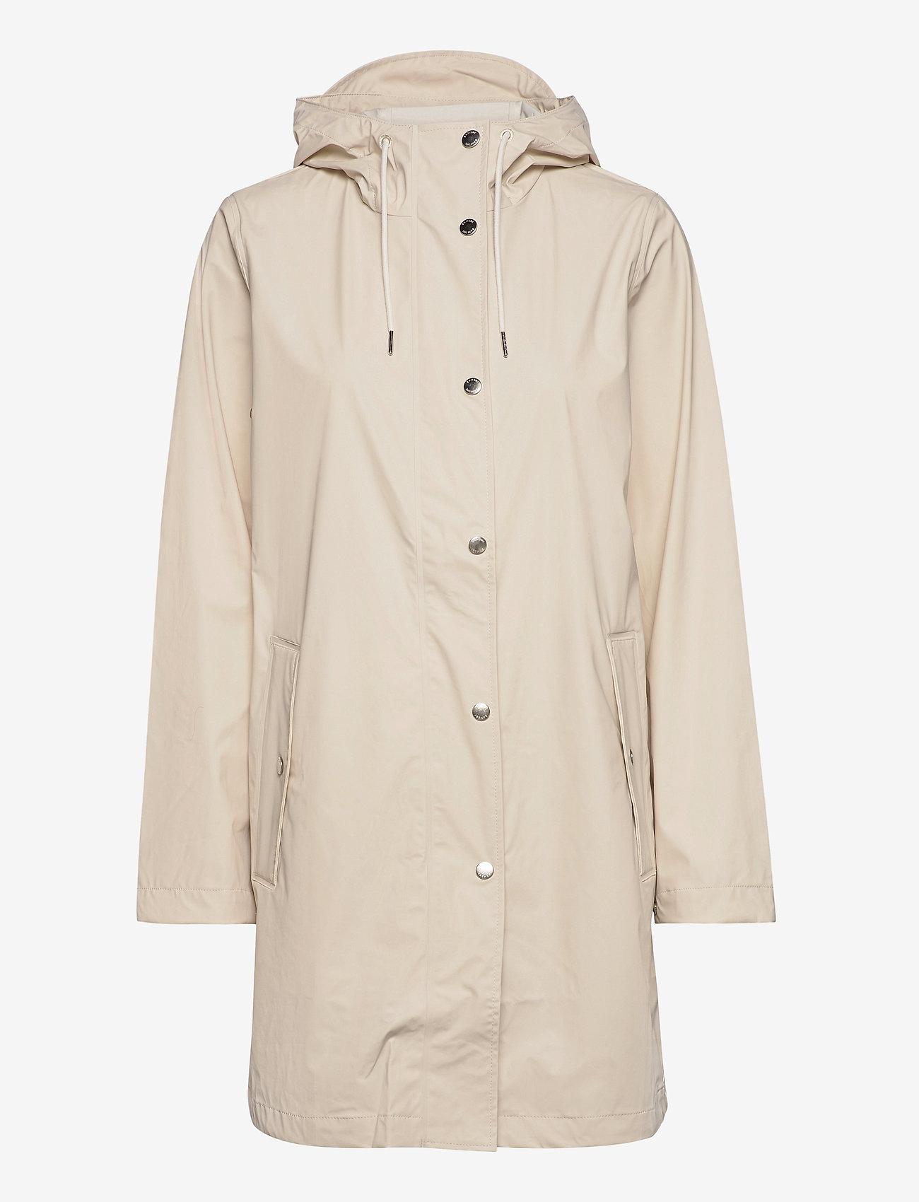 Samsøe Samsøe - Stala jacket 7357 - regntøj - warm white - 0