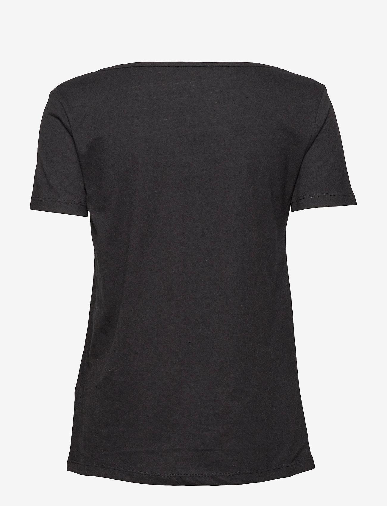 Samsøe Samsøe - Nobel tee 3170 - basic t-shirts - black - 1