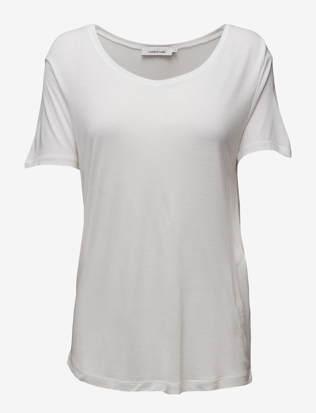 Samsøe Samsøe - Amie ss 2085 - t-shirts & tops - white - 0