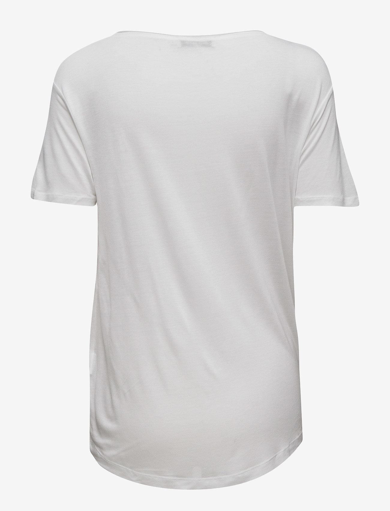 Samsøe Samsøe - Amie ss 2085 - t-shirts & tops - white - 1
