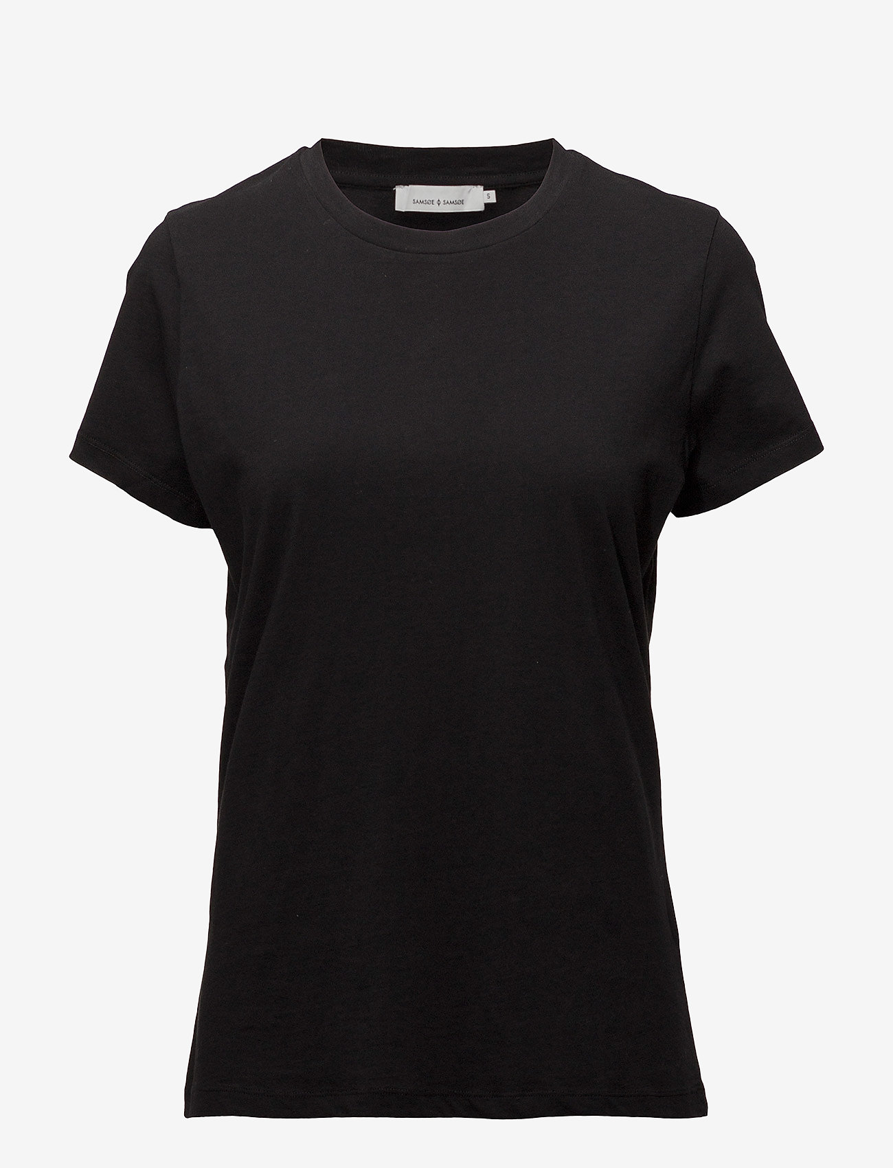 Samsøe Samsøe - Solly tee solid 205 - t-shirts - black - 0