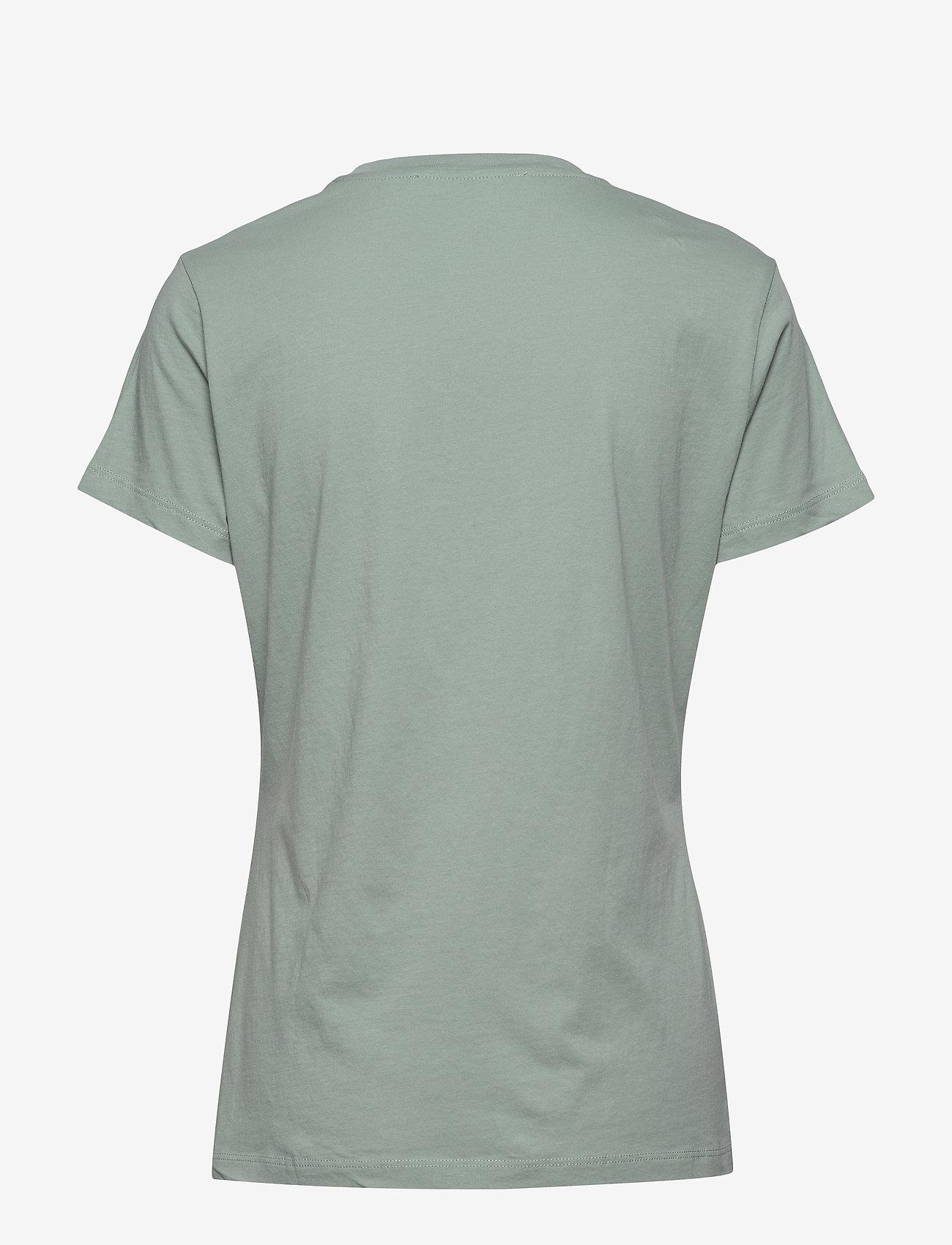 Samsøe Samsøe - Solly tee solid 205 - t-shirts - chinois green - 1