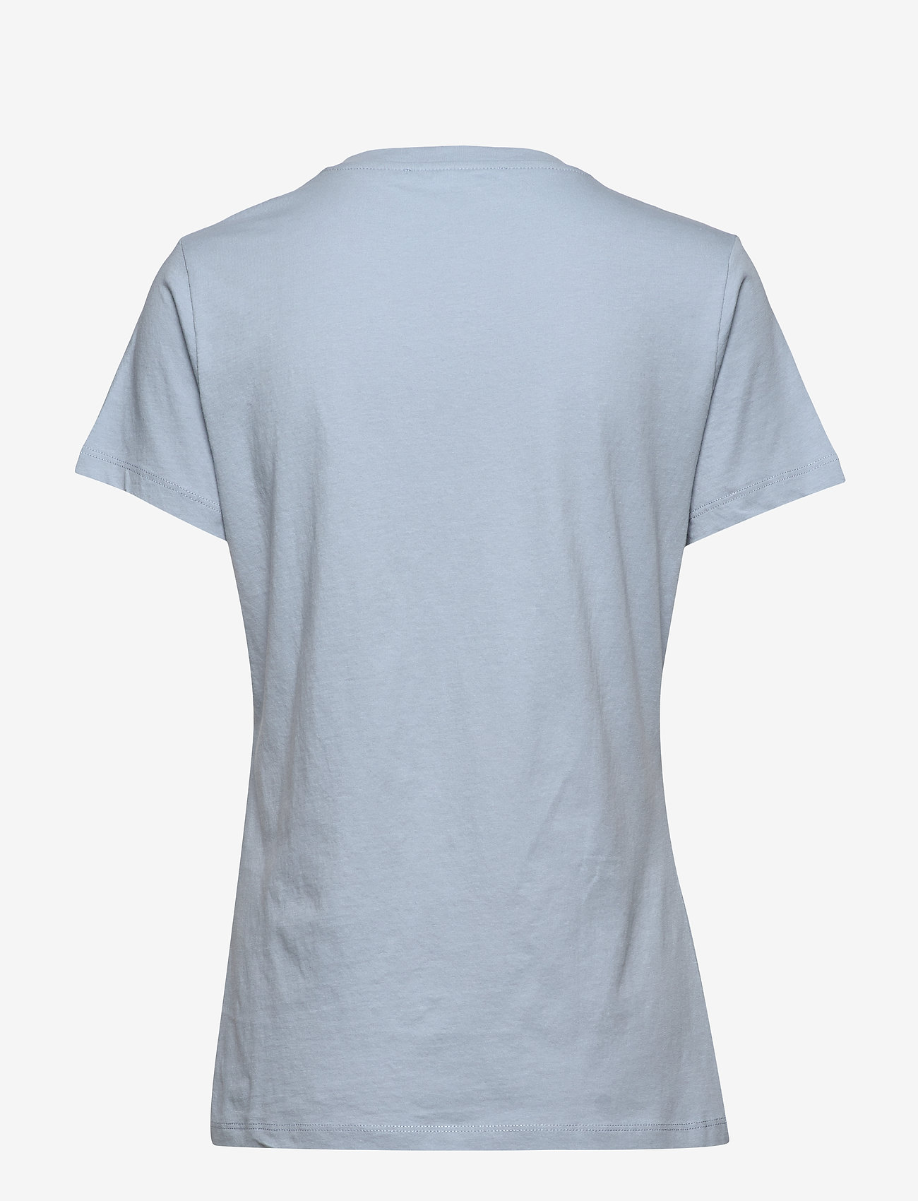 Samsøe Samsøe - Solly tee solid 205 - t-shirts - dusty blue - 1