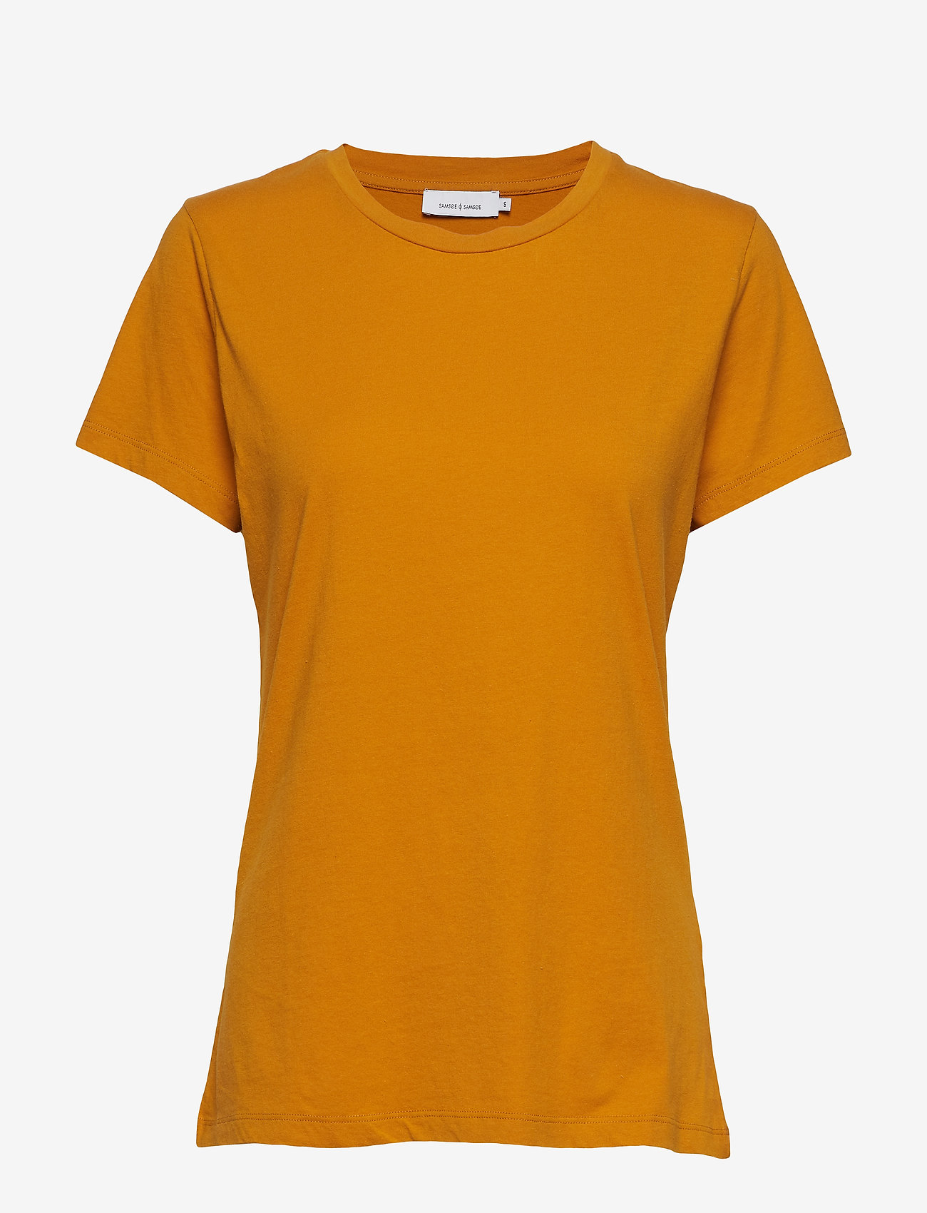 Samsøe Samsøe - Solly tee solid 205 - basic t-shirts - inca gold - 0