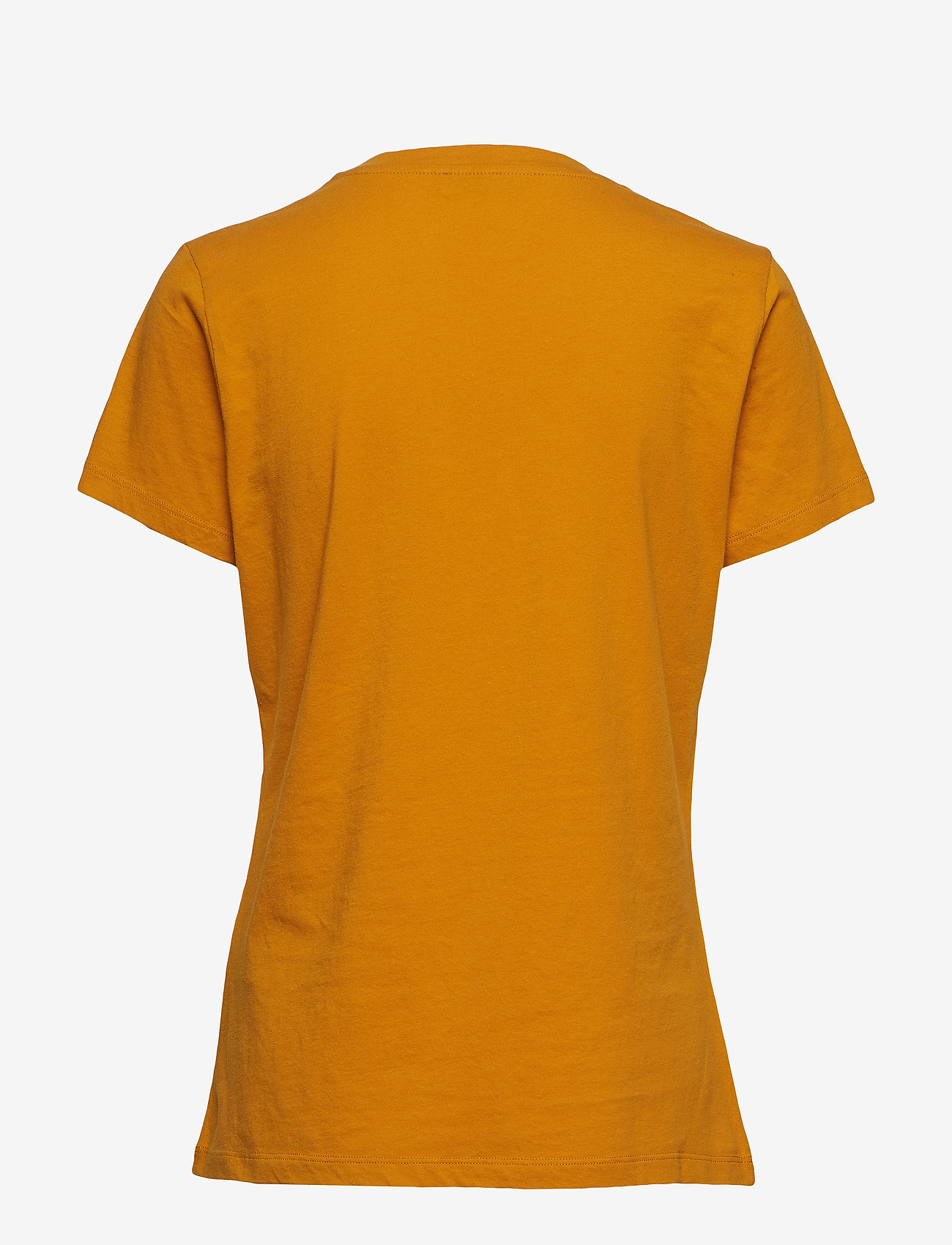 Samsøe Samsøe - Solly tee solid 205 - basic t-shirts - inca gold - 1