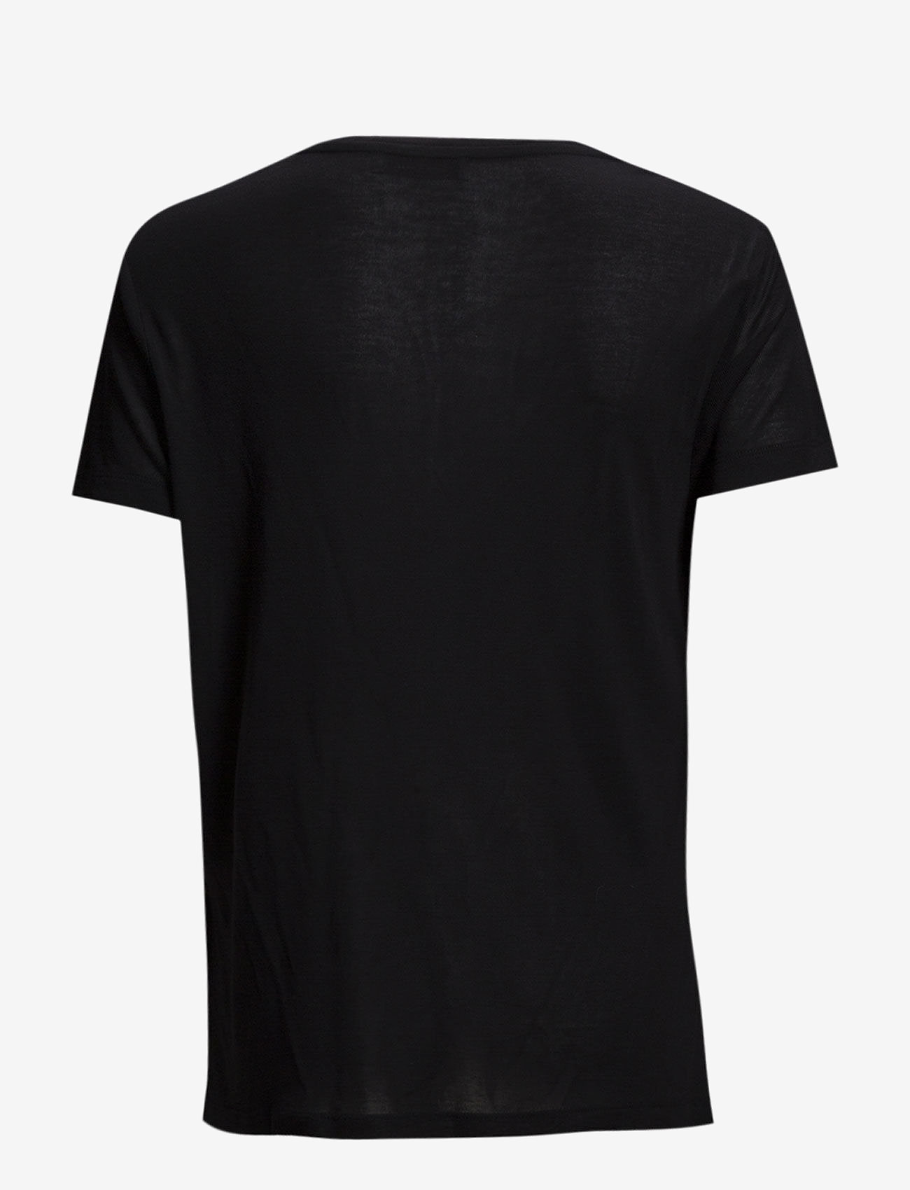 Samsøe Samsøe - Siff v-neck 6136 - basic t-shirts - black - 1