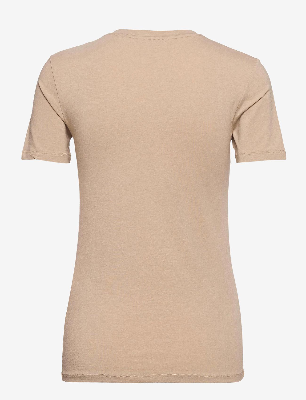 Samsøe Samsøe - Ester ss 265 - t-shirts - humus - 1