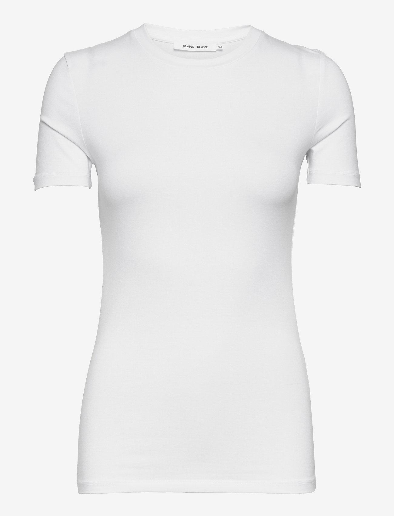 Samsøe Samsøe - Ester ss 265 - t-shirts - white - 0