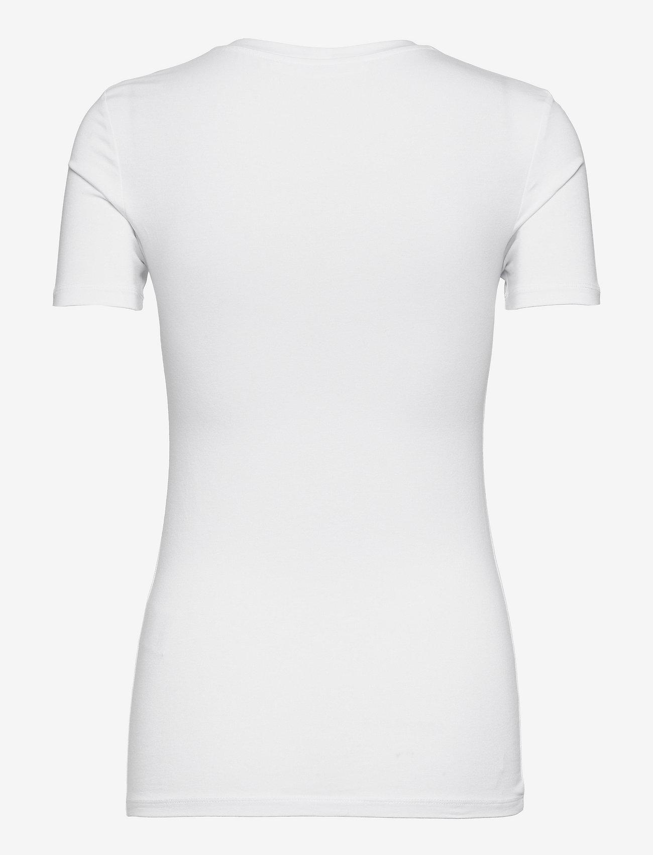 Samsøe Samsøe - Ester ss 265 - t-shirts - white - 1
