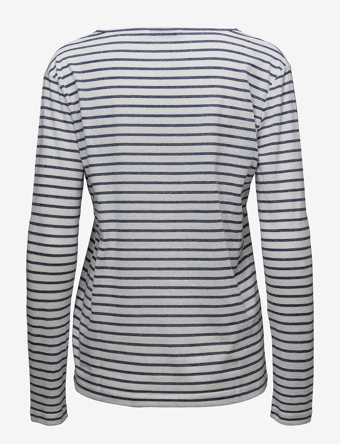 Samsøe Samsøe - Nobel ls stripe 3173 - striped t-shirts - 3173 blue stripe