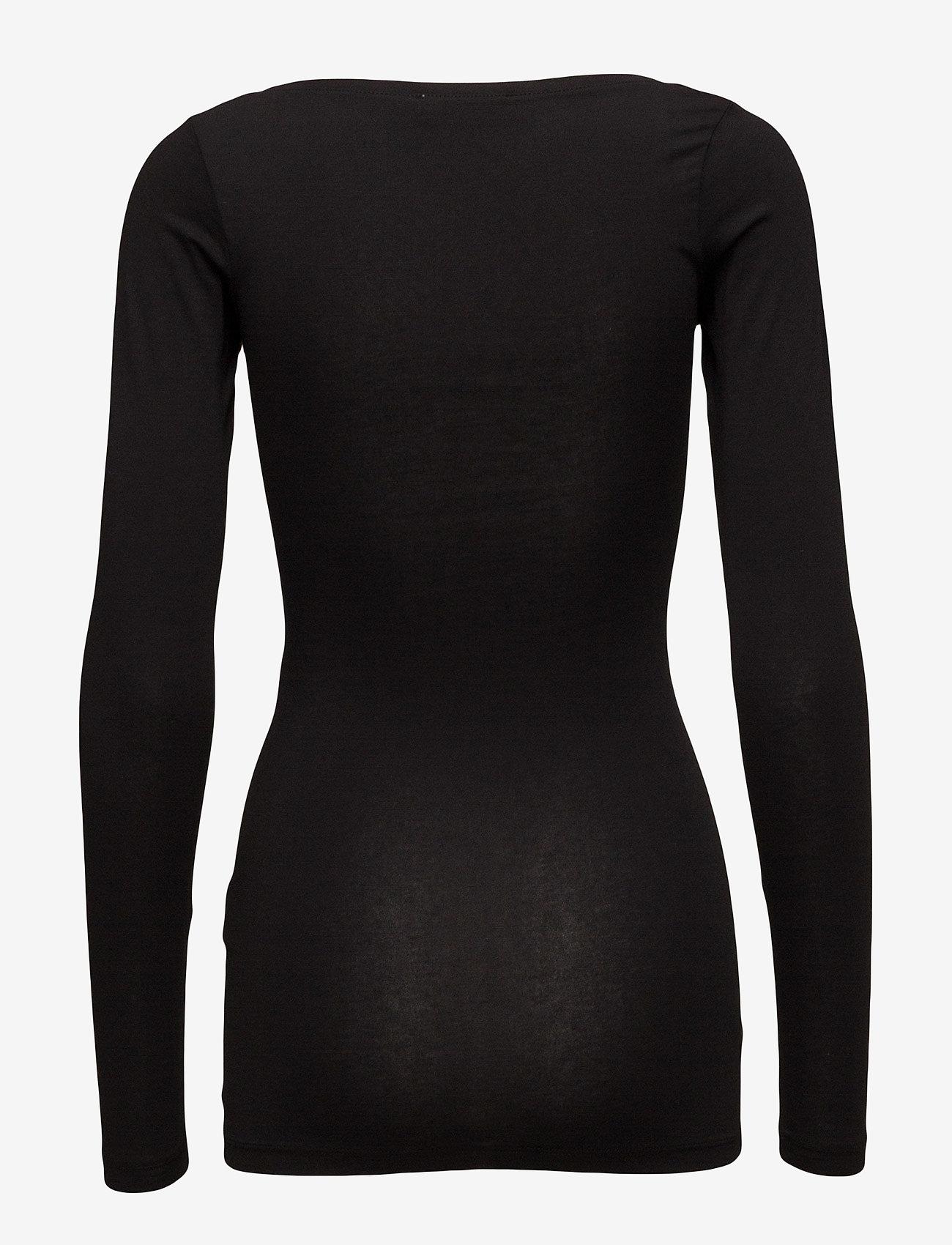 Samsøe Samsøe - Sik solid 265 - lange mouwen - black