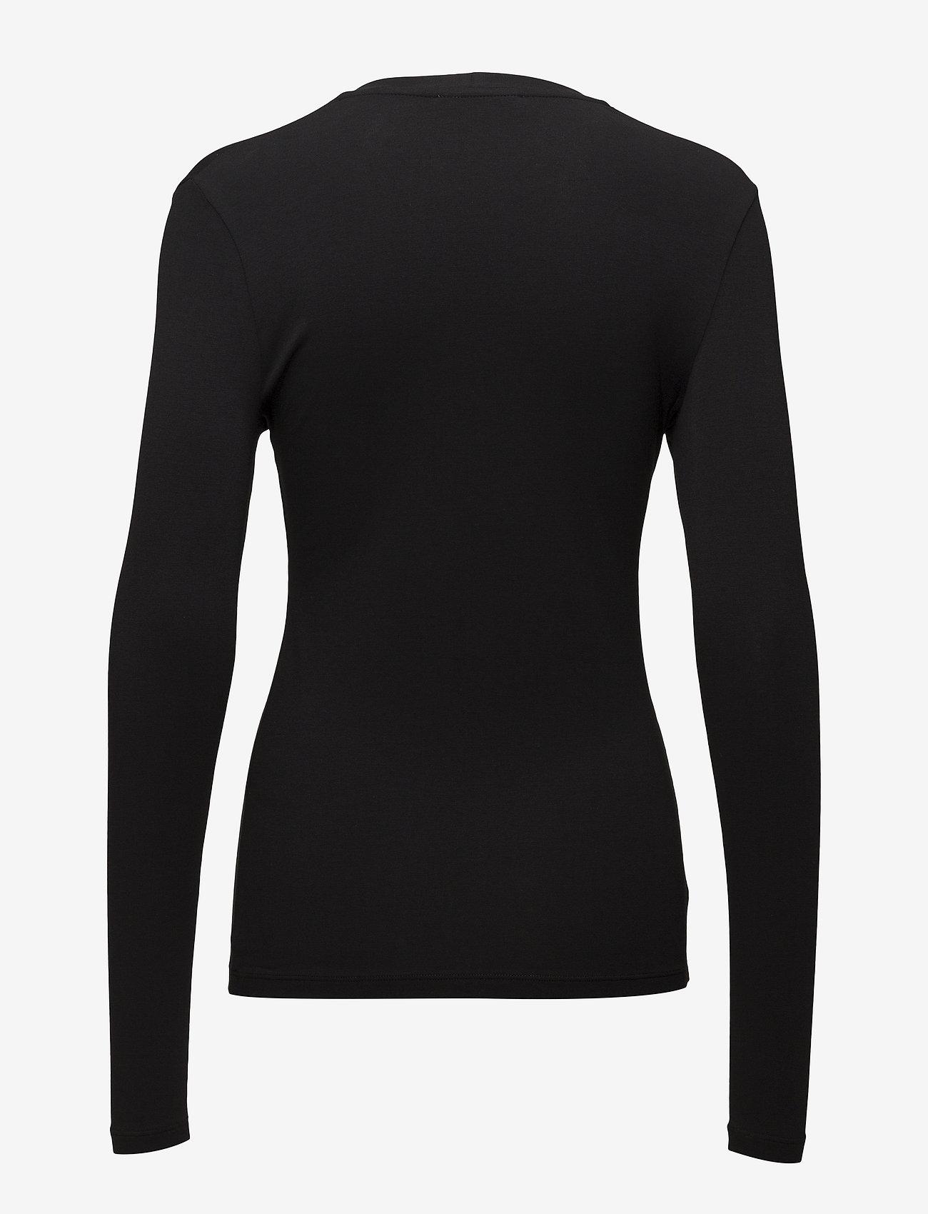 Samsøe Samsøe - Ester ls 265 - basic t-shirts - black - 1