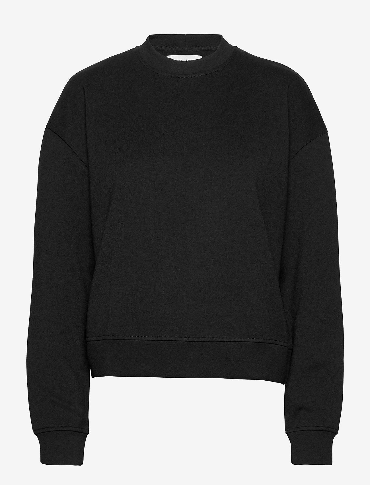 Samsøe Samsøe - Kelsey crew neck 9658 - sweatshirts - black - 0