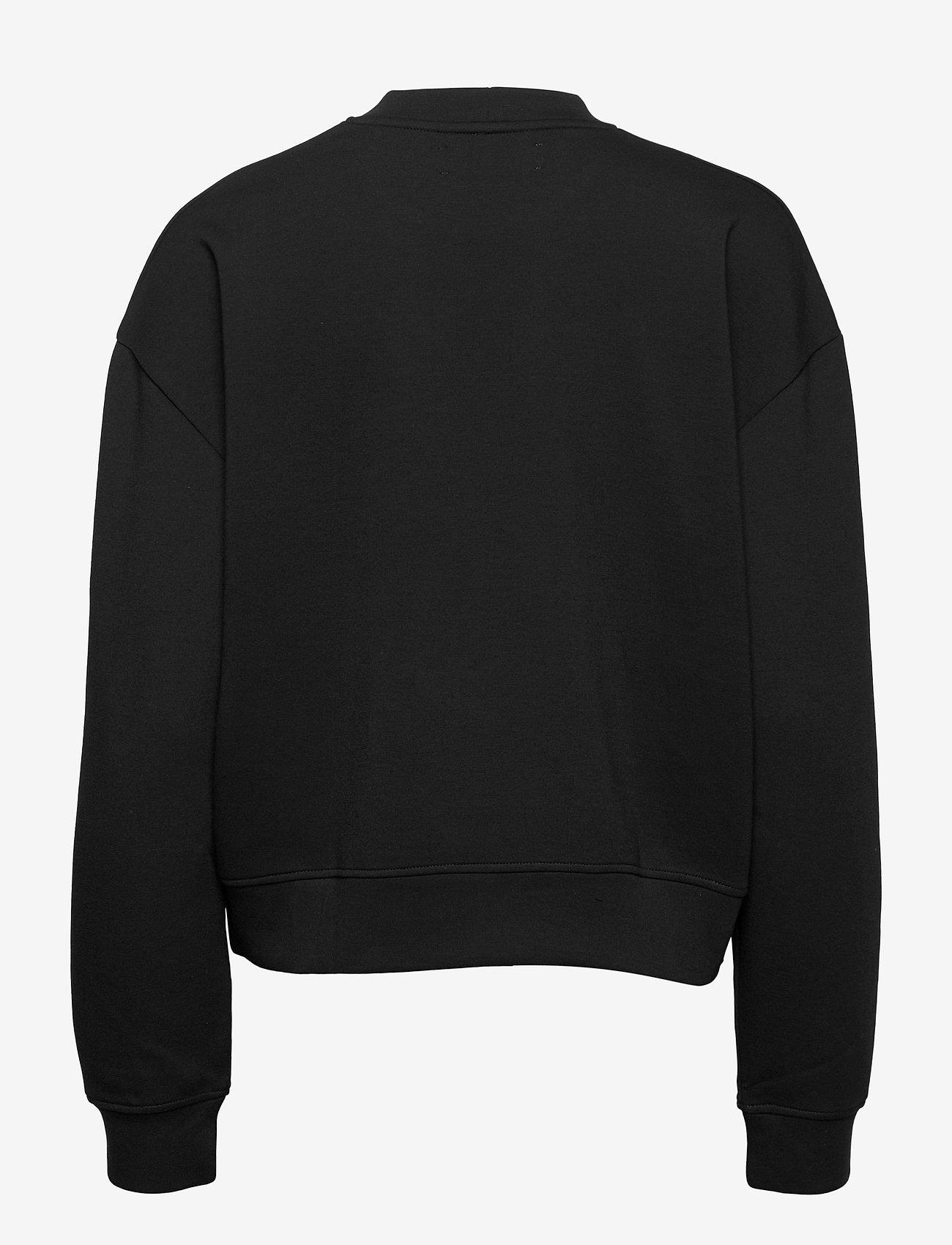 Samsøe Samsøe - Kelsey crew neck 9658 - sweatshirts - black - 1