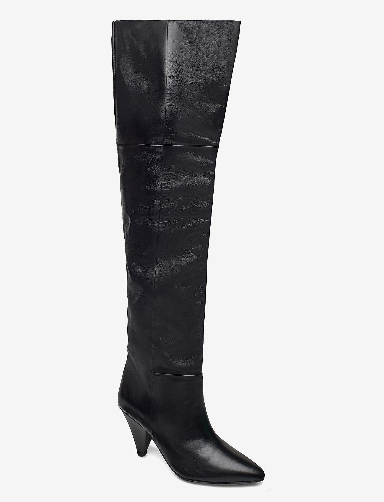 Samsøe Samsøe - Myrassa boot knee 7556 - lange laarzen - black - 0