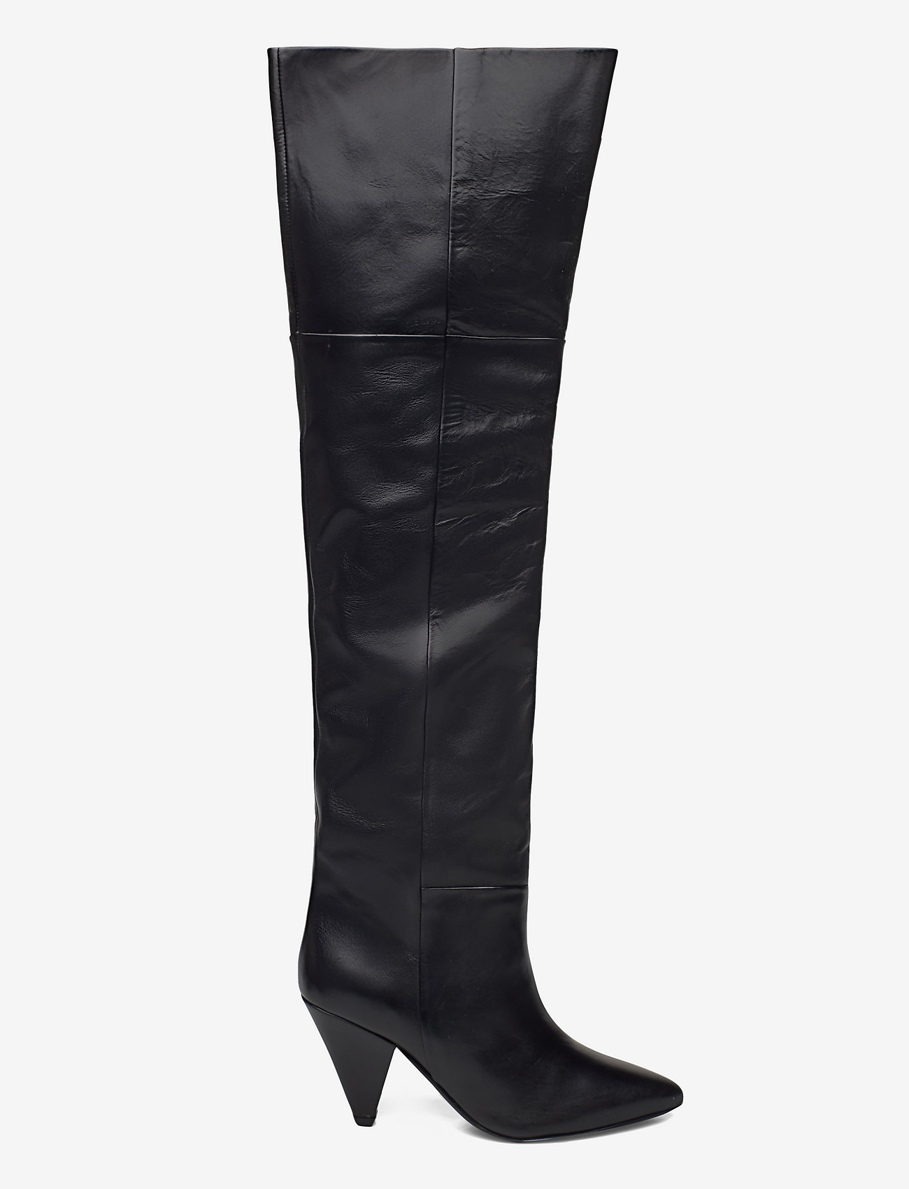Samsøe Samsøe - Myrassa boot knee 7556 - lange laarzen - black - 1