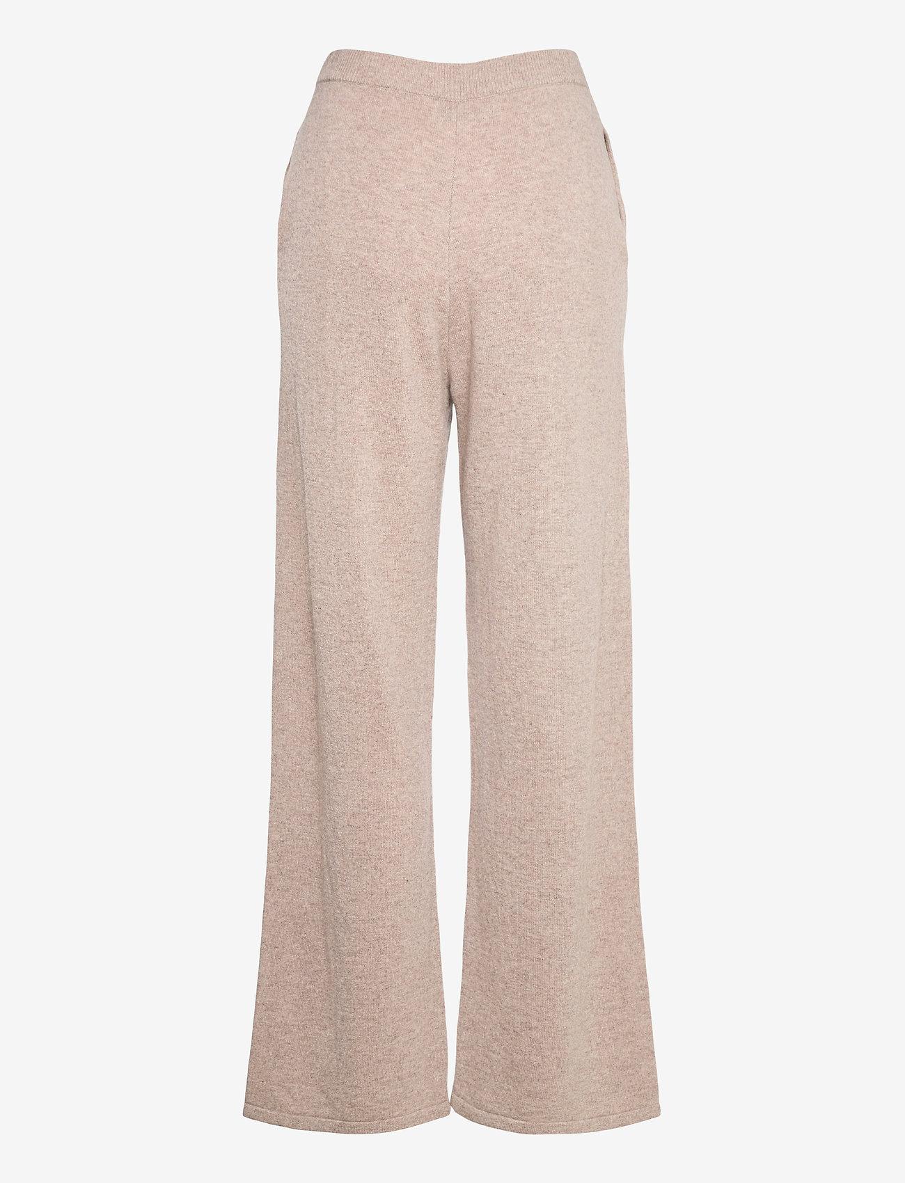 Samsøe Samsøe - Amaris straight trousers 12758 - bukser med brede ben - khaki mel. - 1