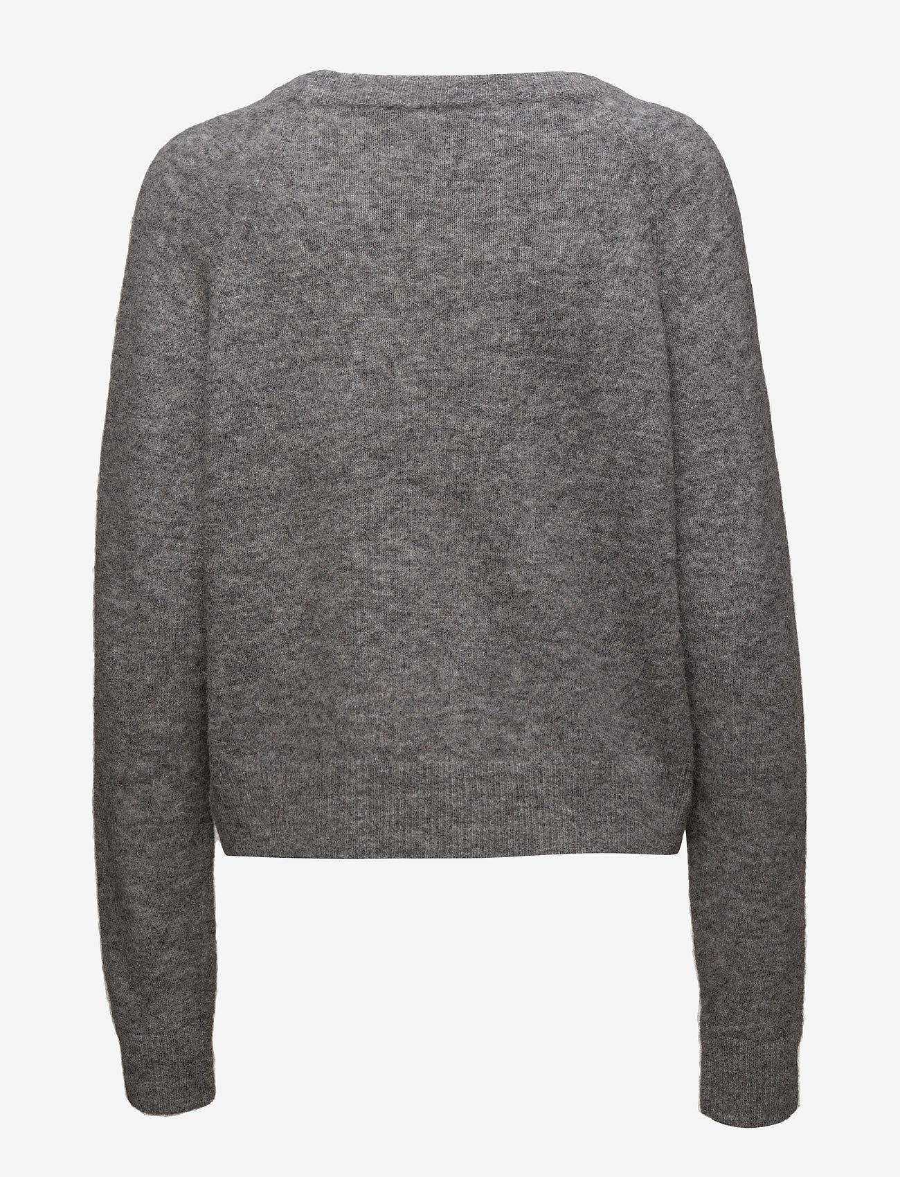 Samsøe Samsøe - Nor o-n short 7355 - tröjor - grey mel. - 1