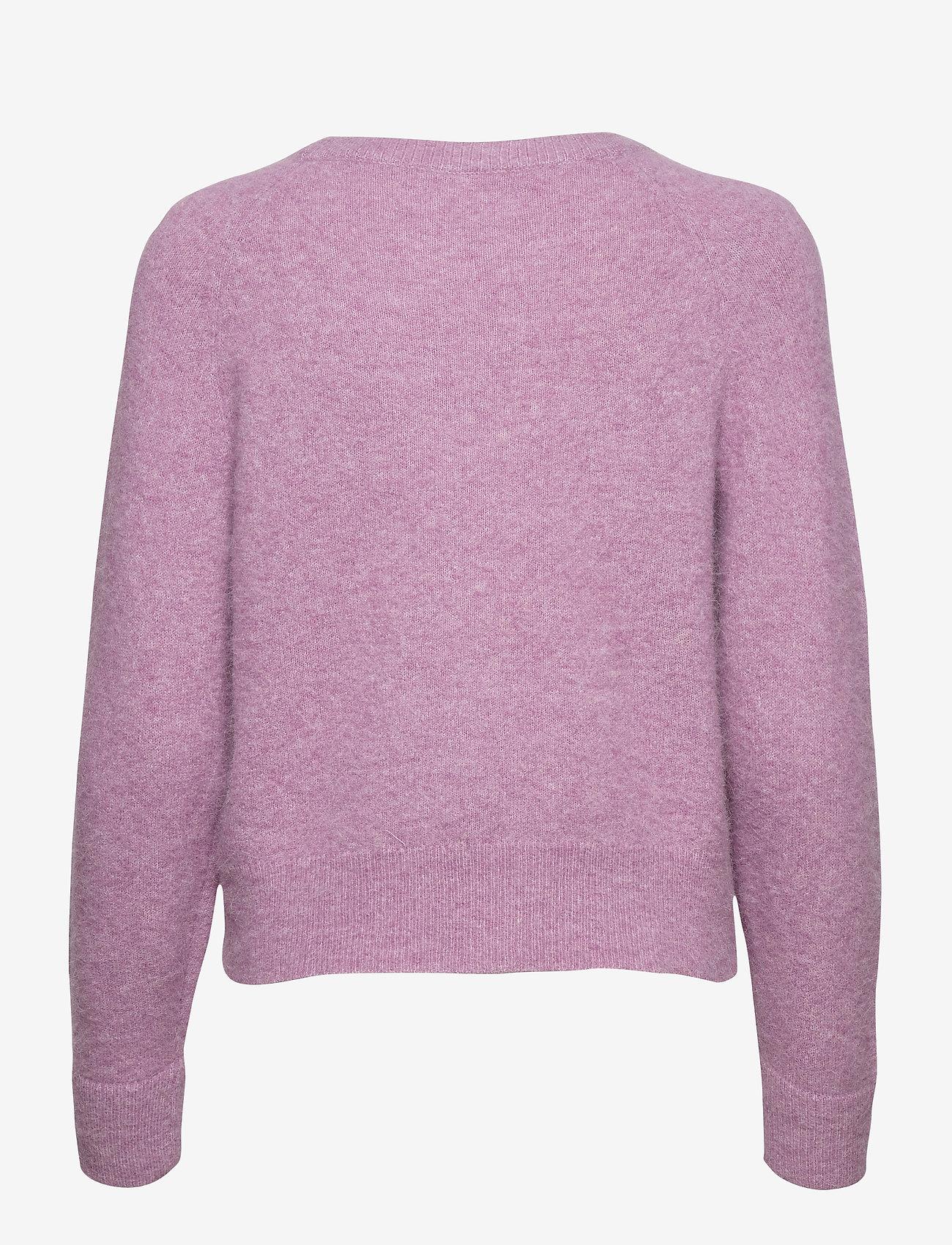 Samsøe Samsøe - Nor o-n short 7355 - tröjor - purple jasper mel. - 1