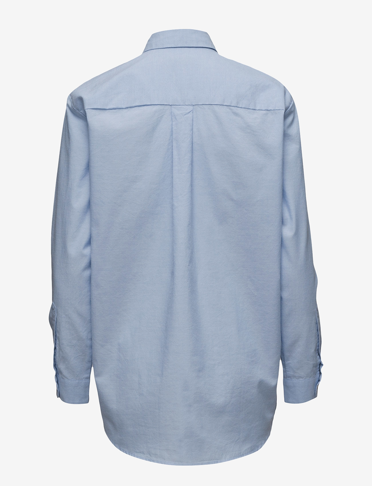 Samsøe Samsøe - Caico shirt 6135 - långärmade skjortor - 6135 oxford blue - 1