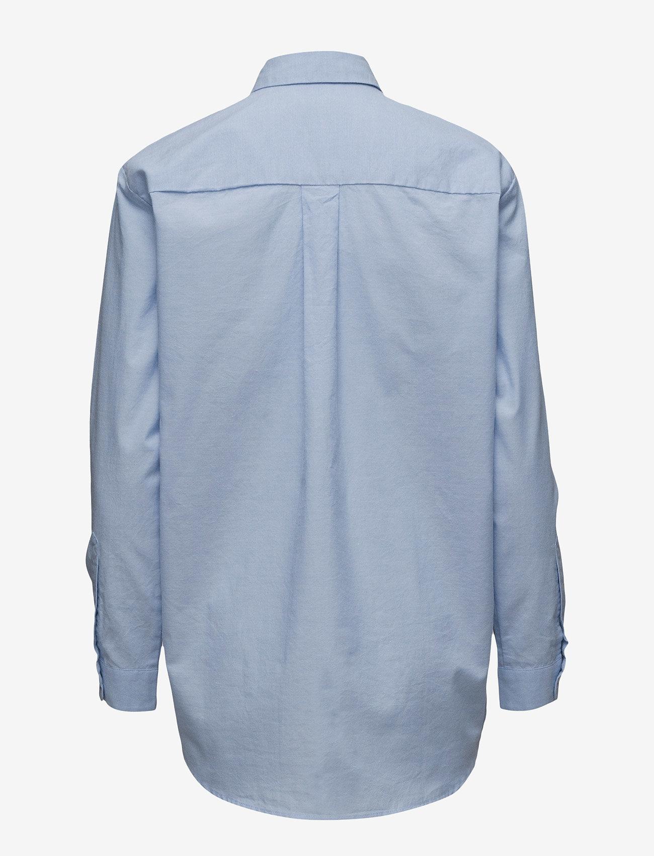 Samsøe Samsøe - Caico shirt 6135 - koszule z długimi rękawami - 6135 oxford blue - 1