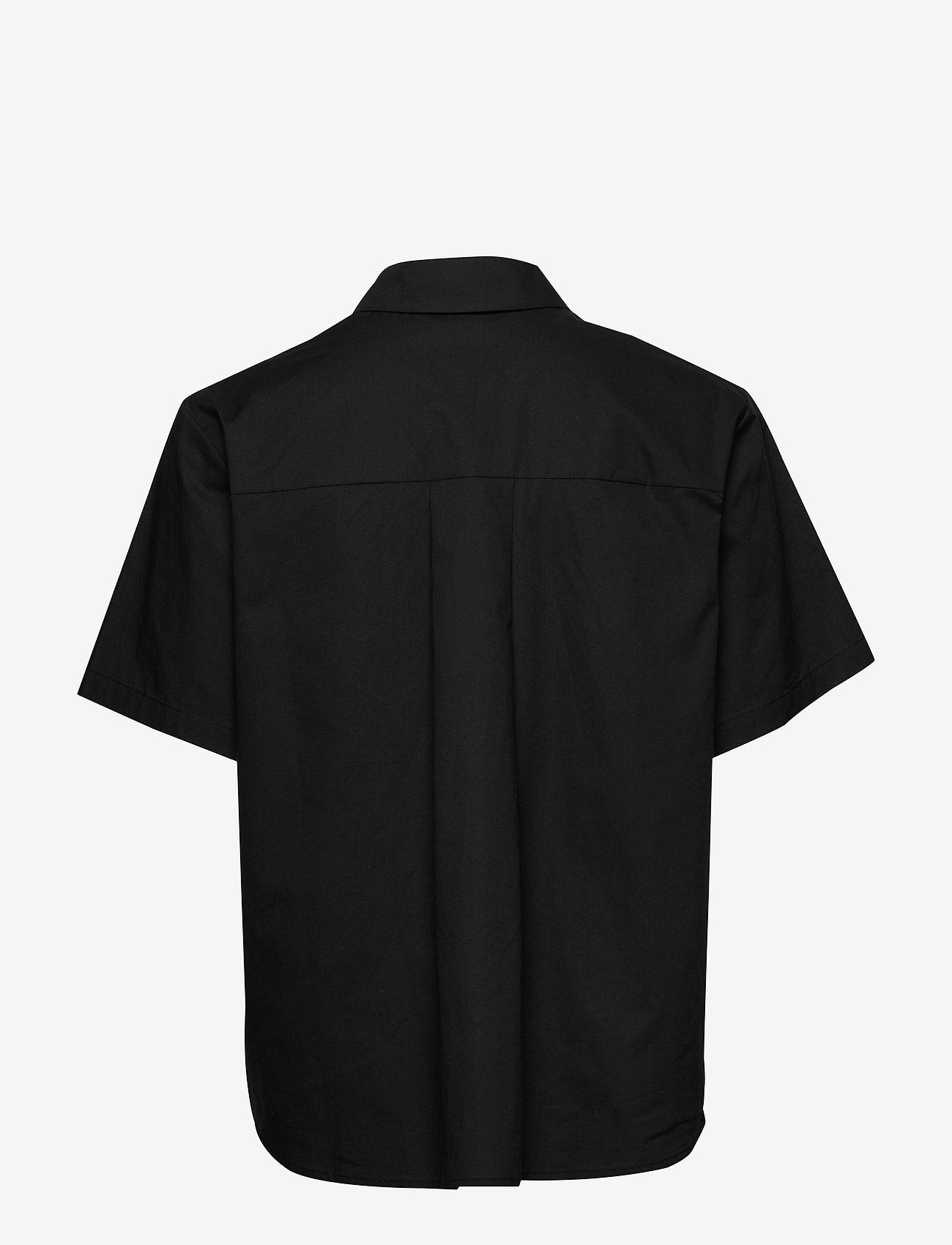 Samsøe Samsøe - Mina shirt ss 10451 - overhemden met korte mouwen - black - 1