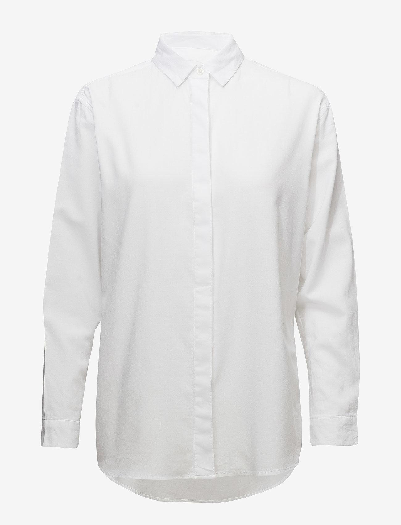 Samsøe Samsøe - Caico Shirt 2634 - long-sleeved shirts - white
