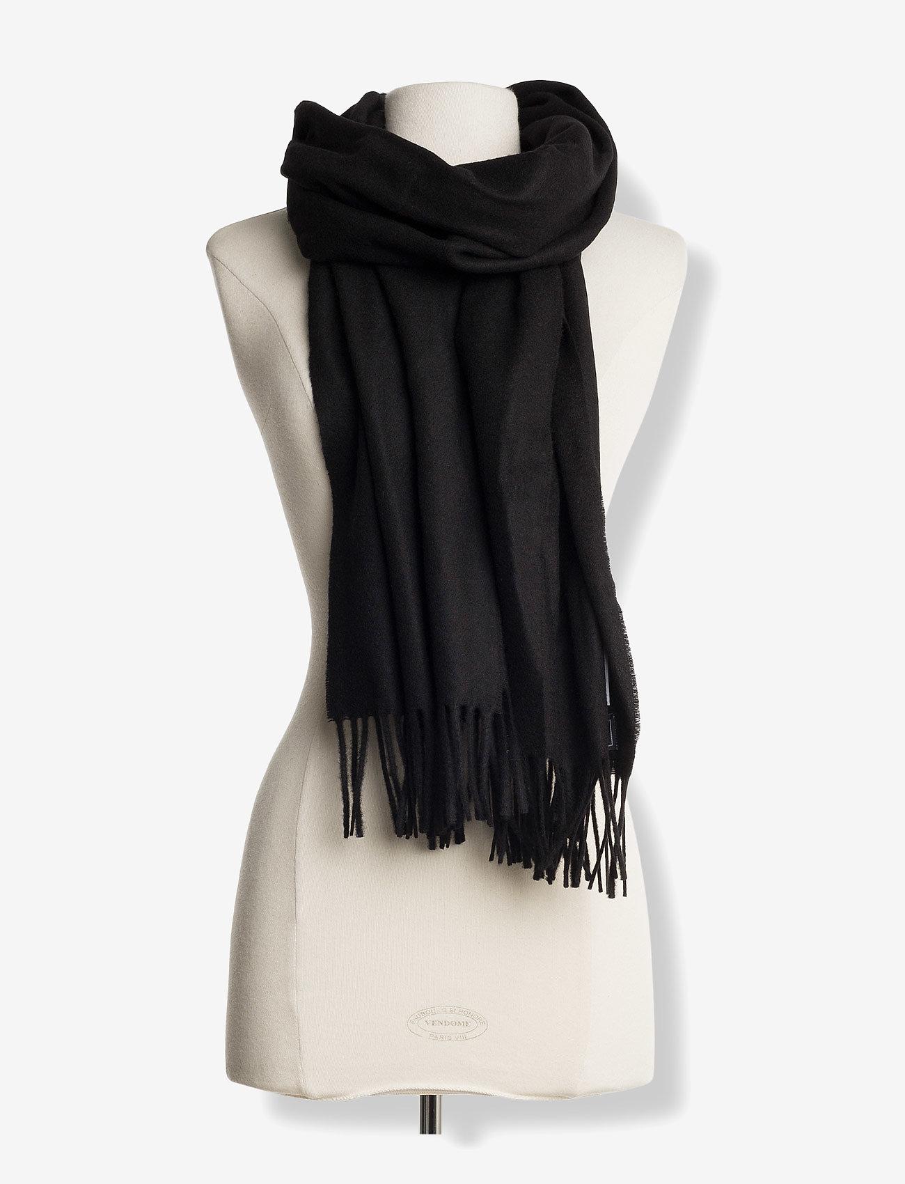 Samsøe Samsøe - Accola maxi scarf 2862 - ziemas šalles - black - 1
