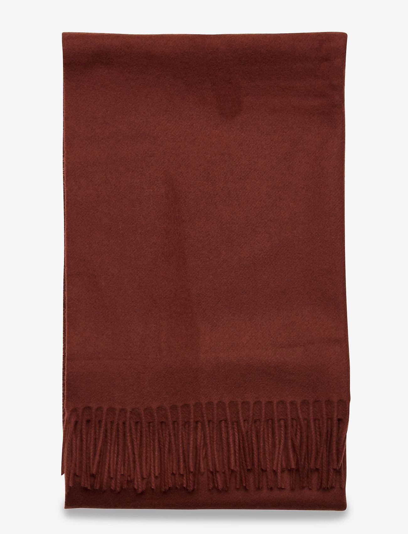 Samsøe Samsøe Accola maxi scarf 2862 - Szaliki i chusty CINNAMON - Akcesoria