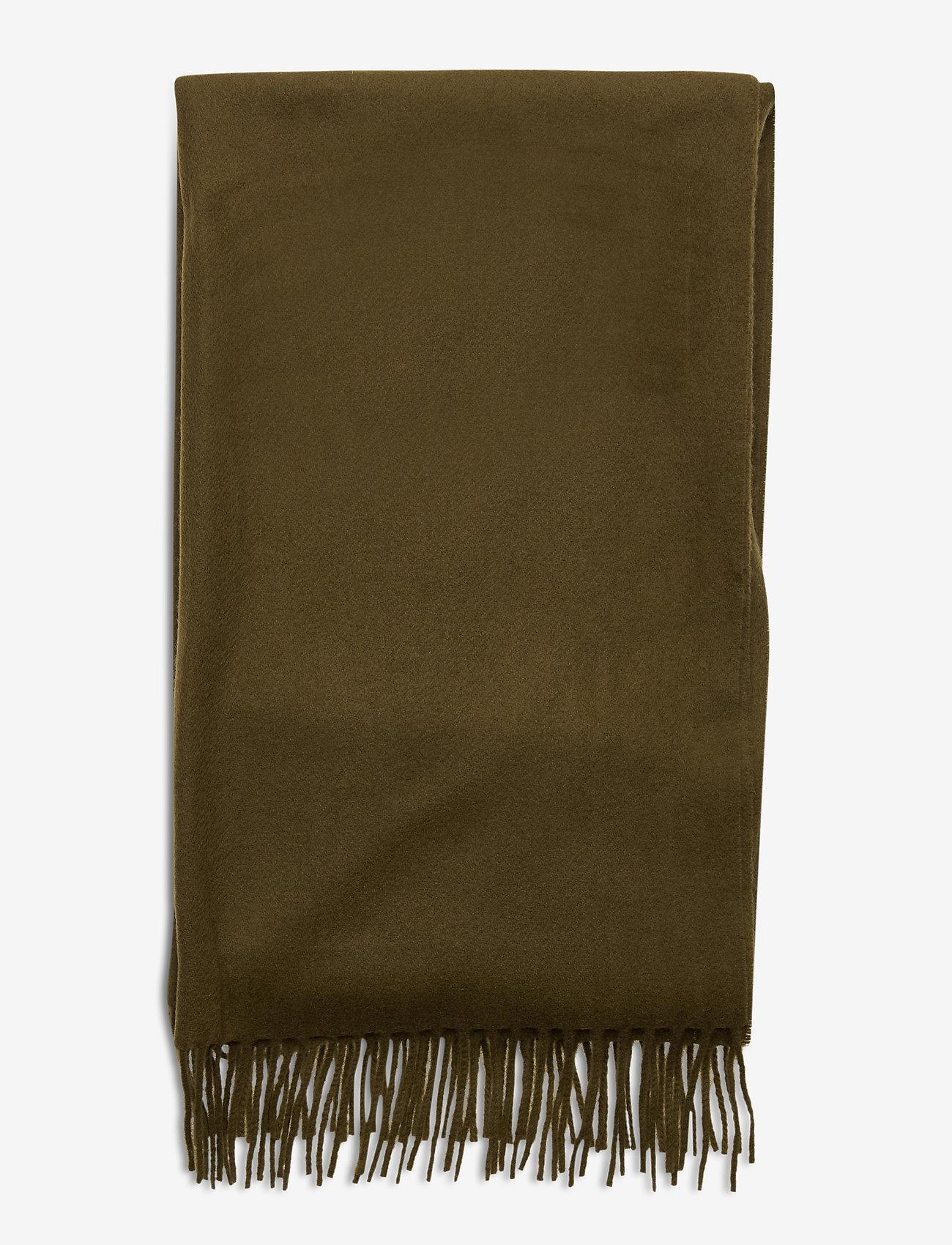 Samsøe Samsøe Accola maxi scarf 2862 - Szaliki i chusty DARK OLIVE - Akcesoria