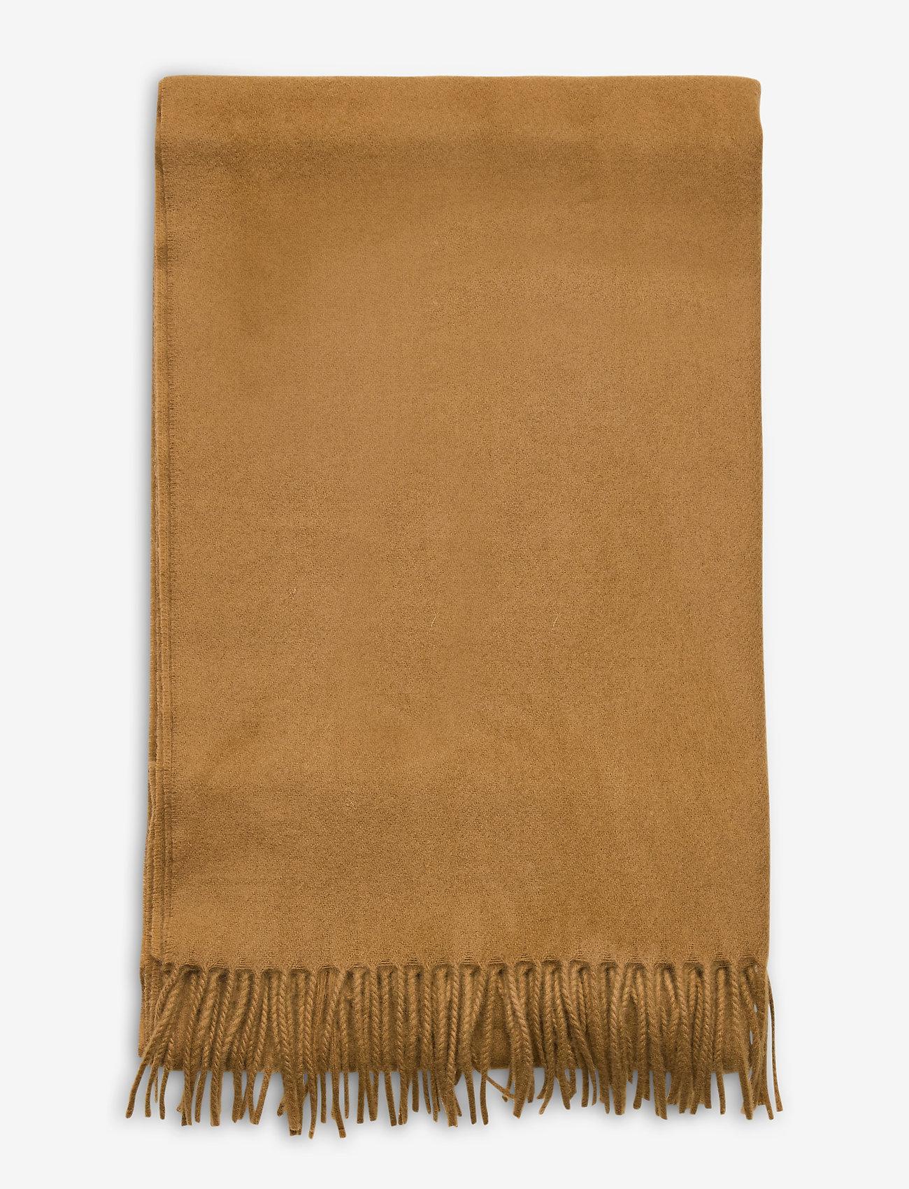 Samsøe Samsøe Accola maxi scarf 2862 - Szaliki i chusty DULL GOLD - Akcesoria
