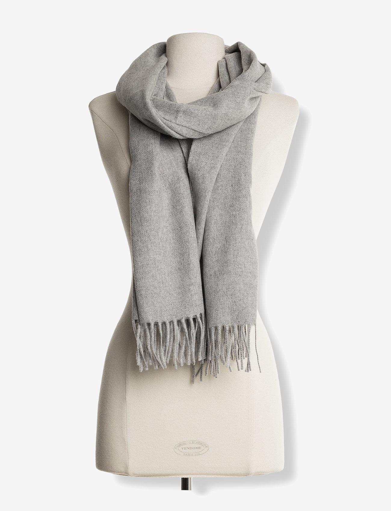 Samsøe Samsøe Accola maxi scarf 2862 - Szaliki i chusty GREY MEL. - Akcesoria
